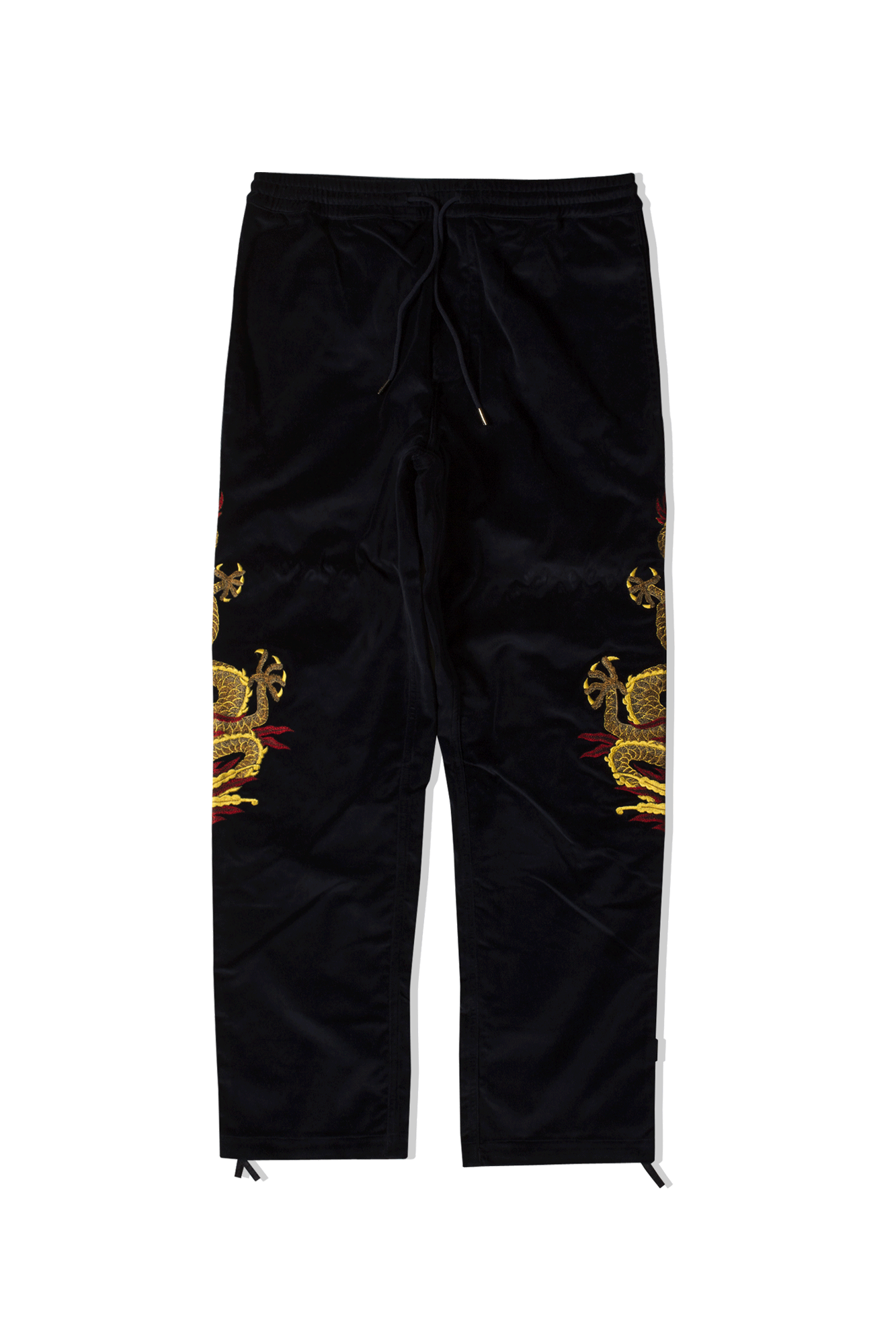Golden Sun Dragon Trackpants IV Blu