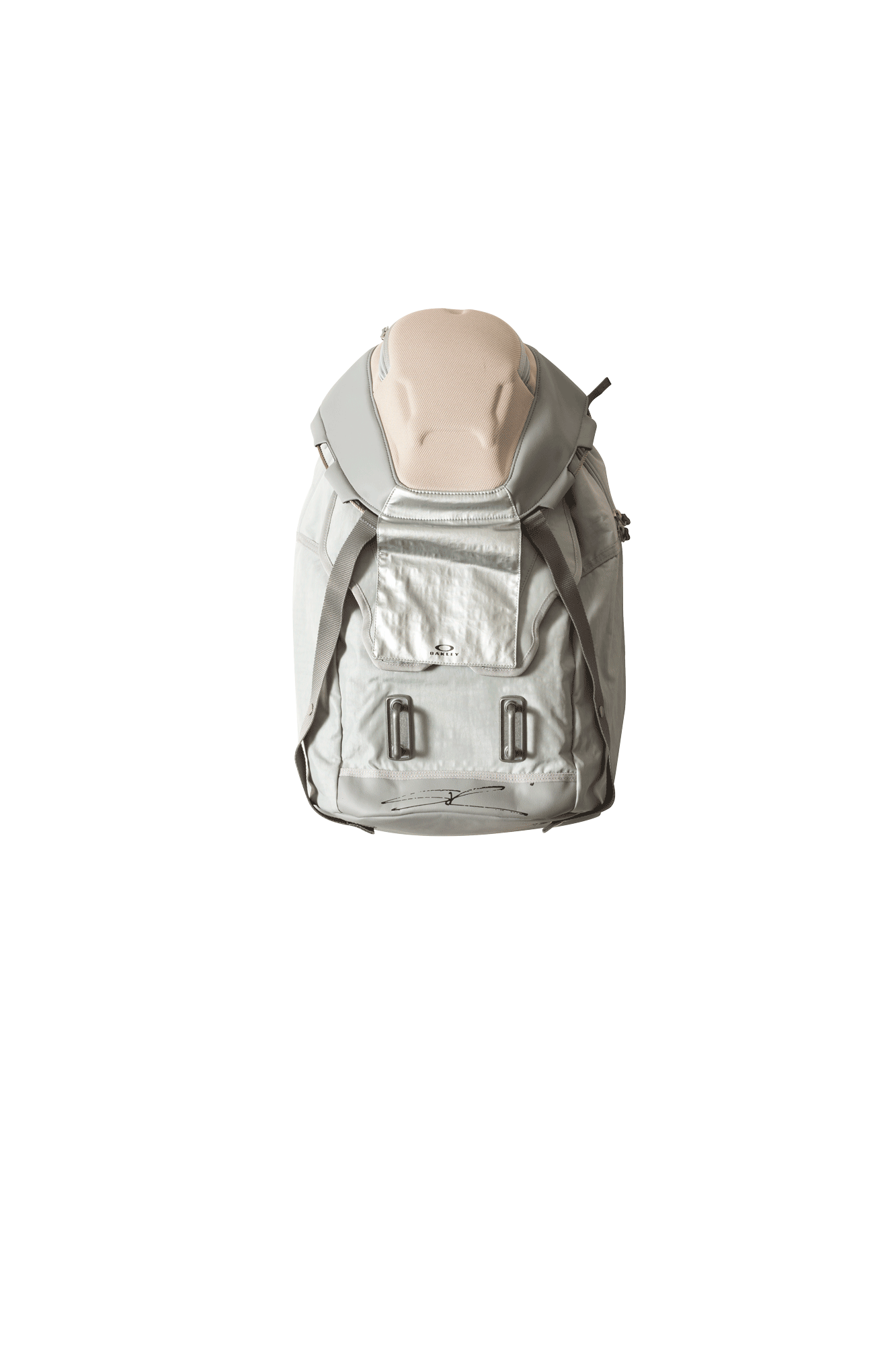 Oakley by Samuel Ross Zaini Metallic Backpack Grigio 921467-22Y#000#C0009#OS - One Block Down