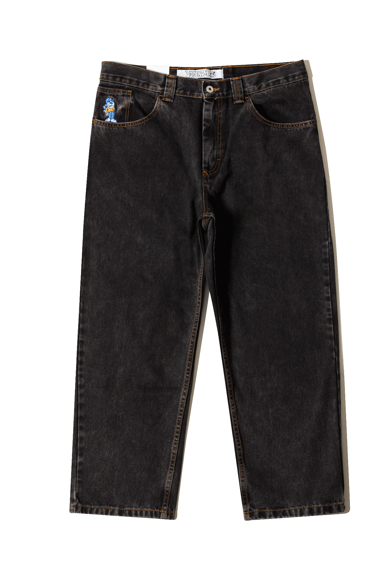 Polar Jeans '93 Denim Nero 93DENIM#000#BLACK#28 - One Block Down