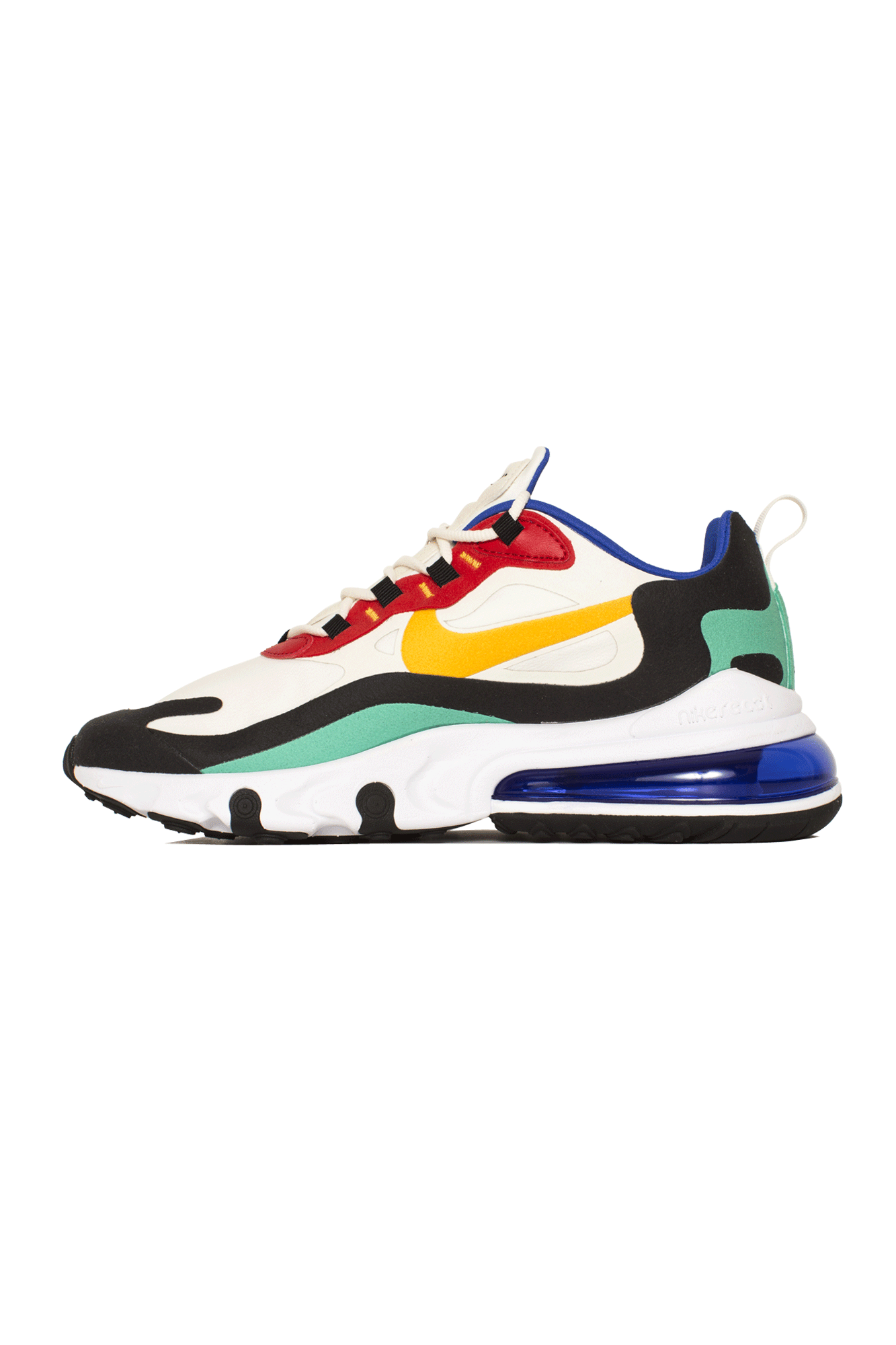 Nike Sneakers AIR MAX 270 REACT Bianco AO4971-#000#002#4 - One Block Down