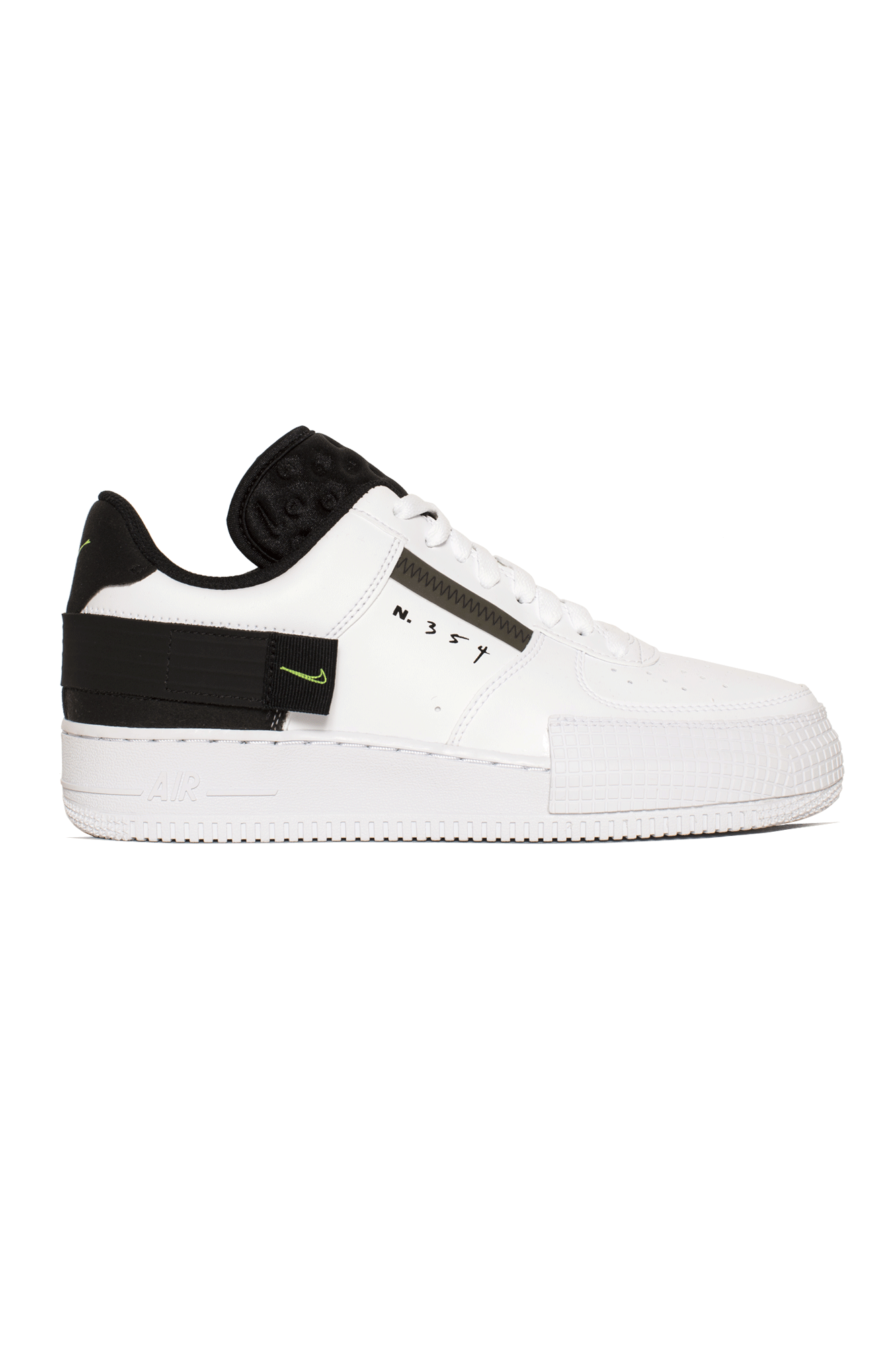 Nike Sneakers Air Force 1 Type Bianco AT7859-#000#101#7 - One Block Down