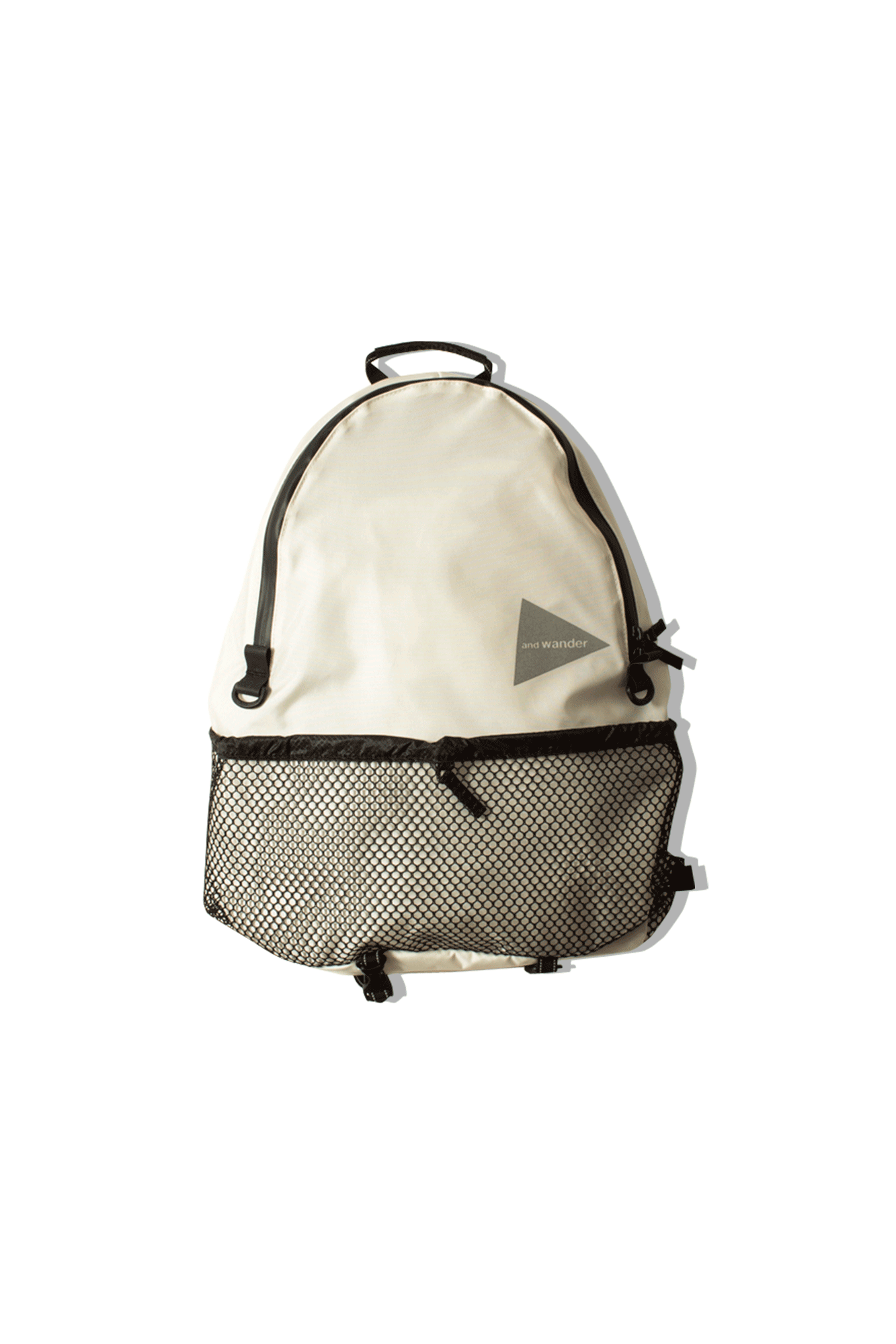 And Wander Zaini 20L Daypack Bianco AW-AA990#000#WHT#OS - One Block Down