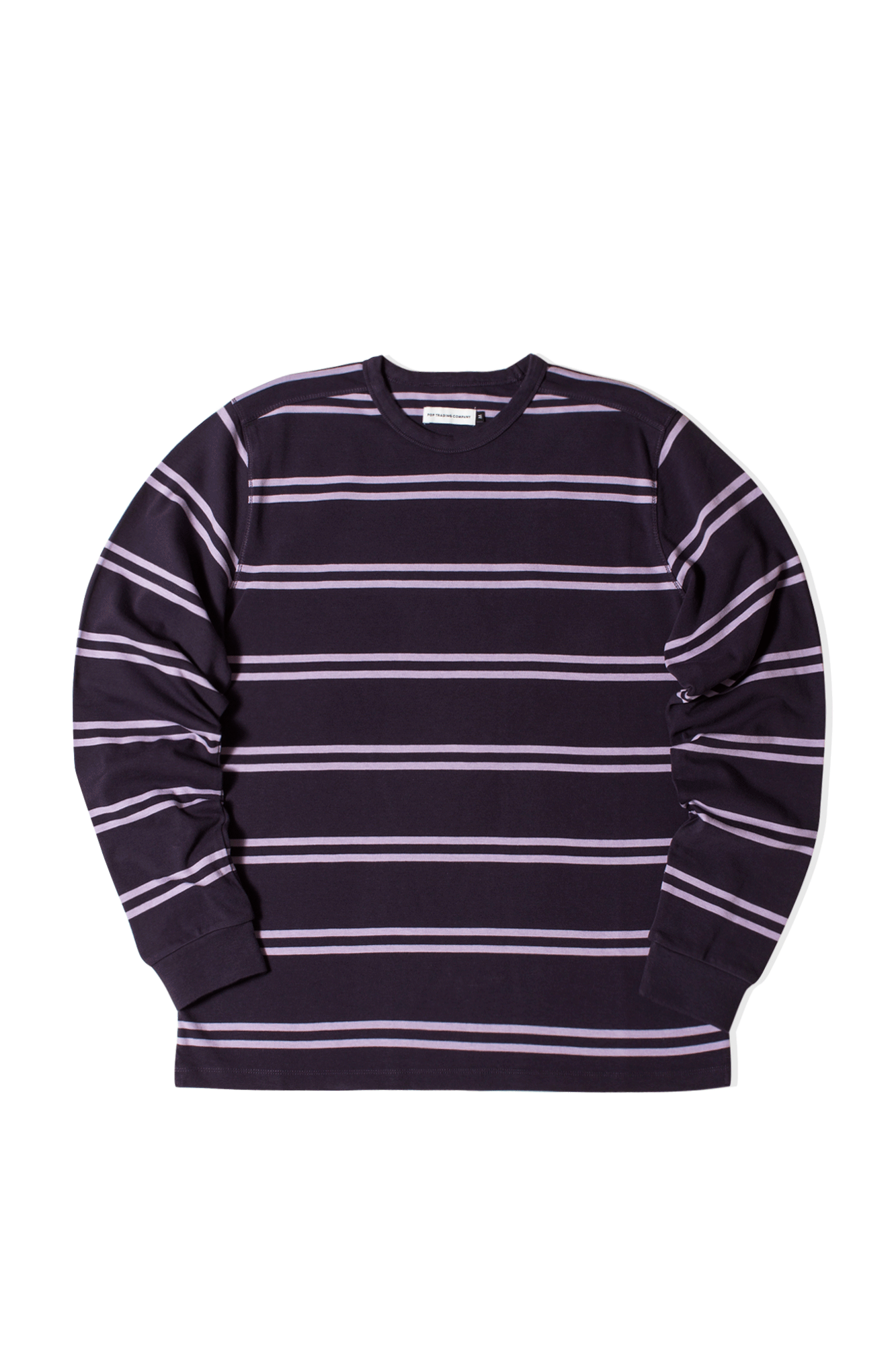 Striped Logo Longsleeve Viola