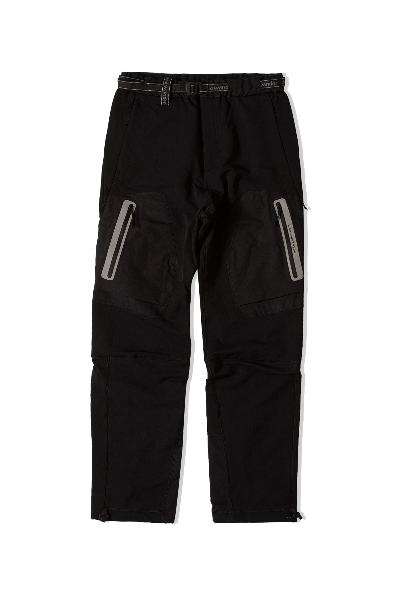 Stretch Shell Pants Nero