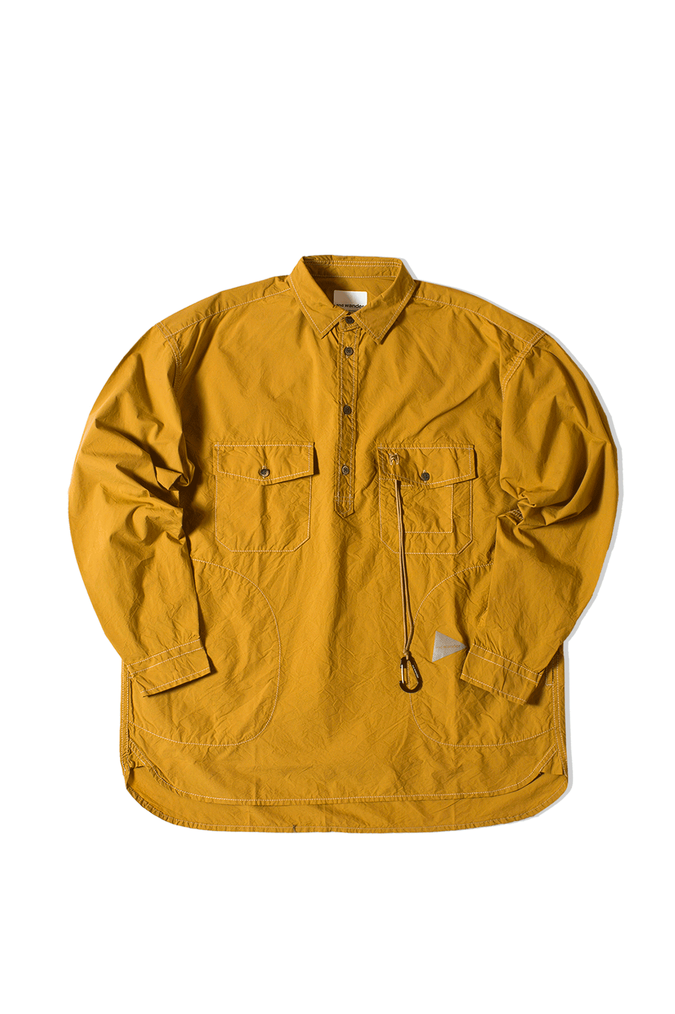 Cordura Typewriter Shirt Marrone