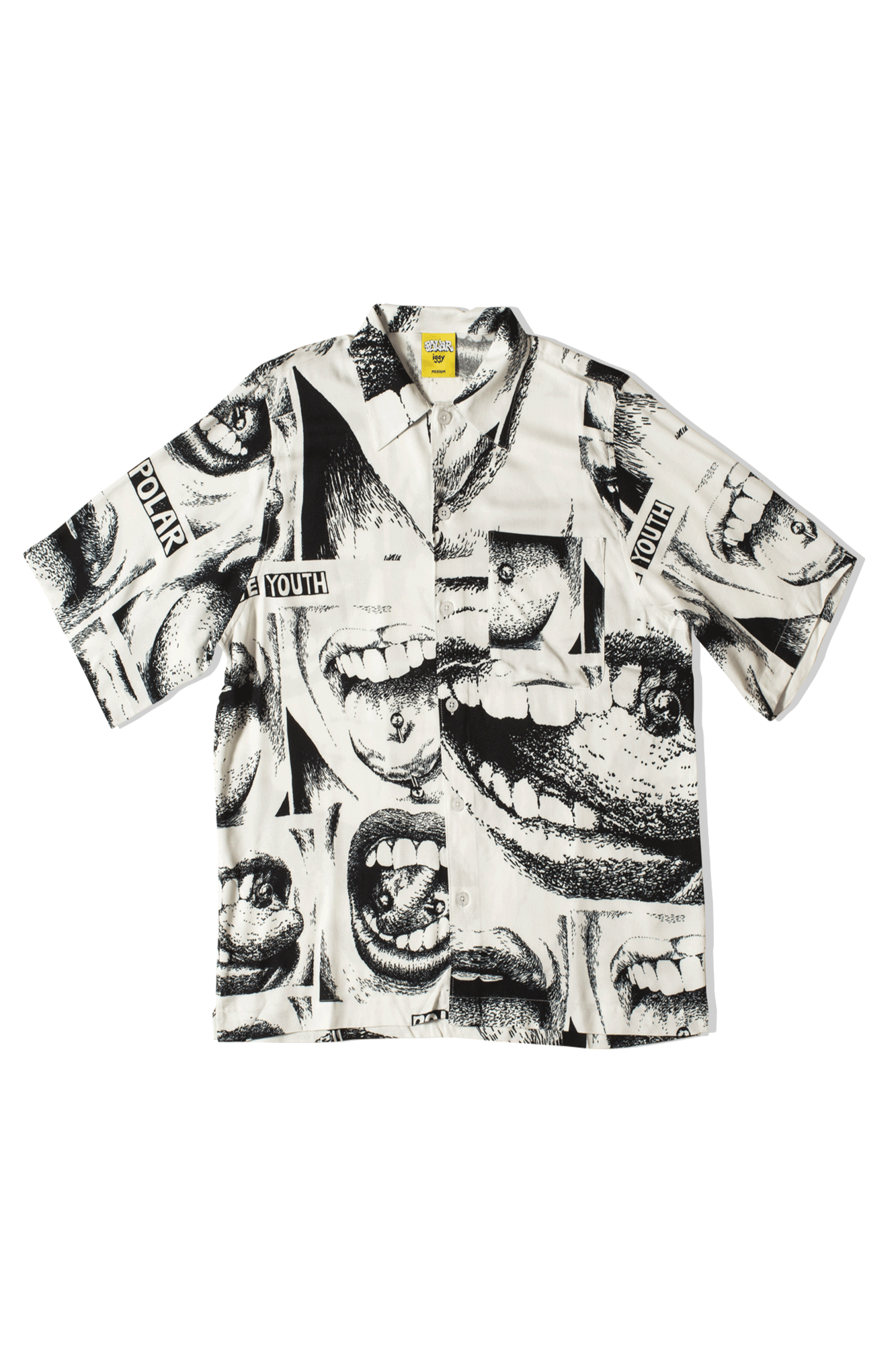 Alternative Youth Shirt x IGGY NYC Bianco