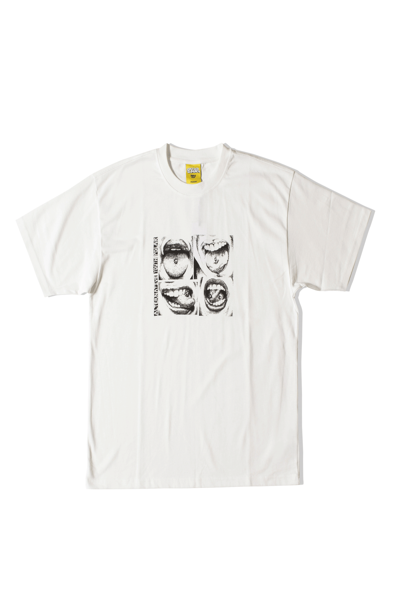 Alternative Youth Tee x IGGY NYC Bianco