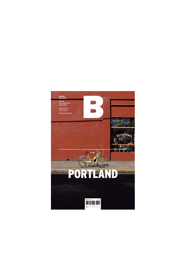 Magazine B Issue#58 PORTLAND Multicolore