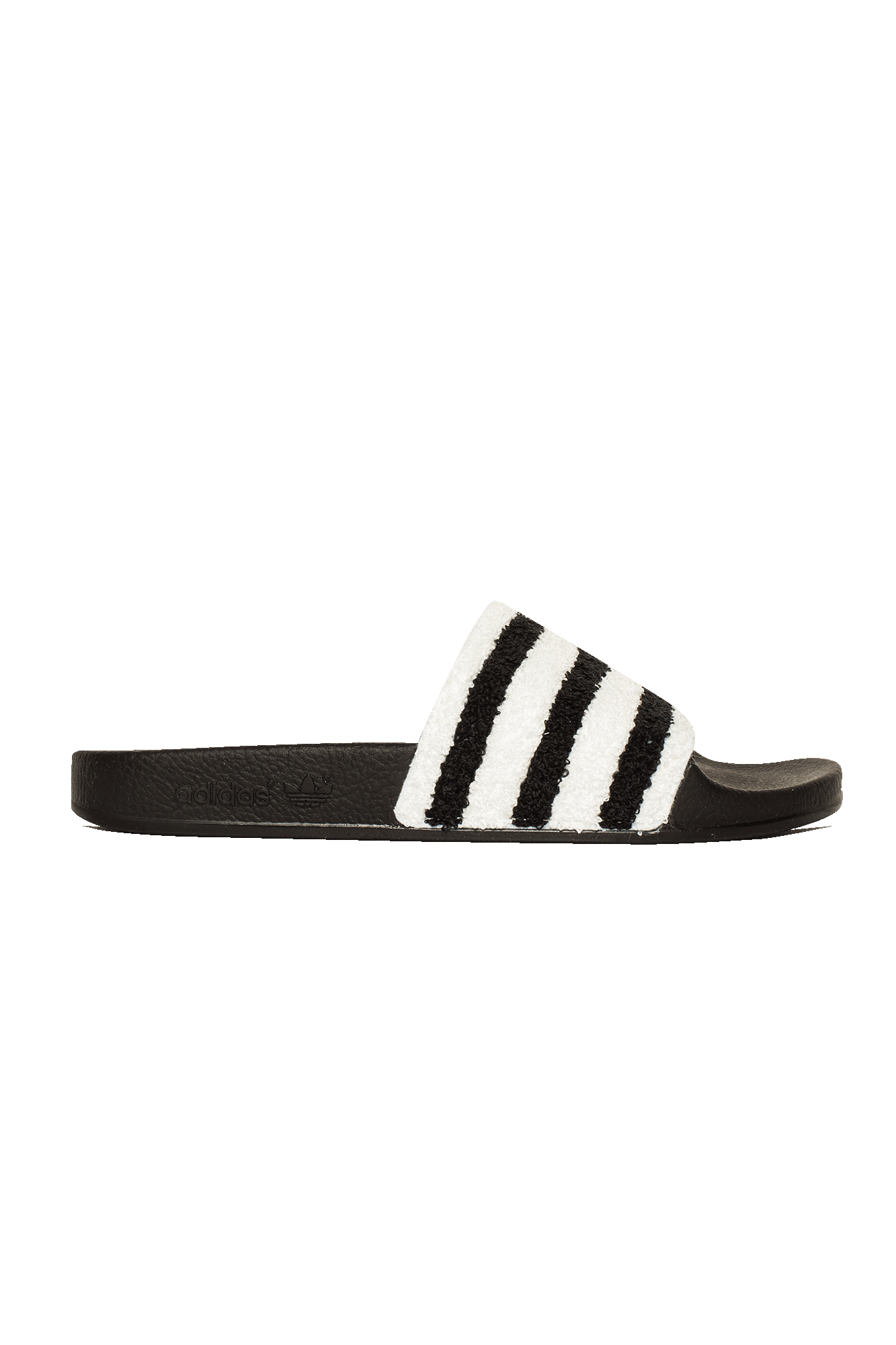 Adidas Originals Sandali & Ciabatte Adilette  Nero Nero - One Block Down