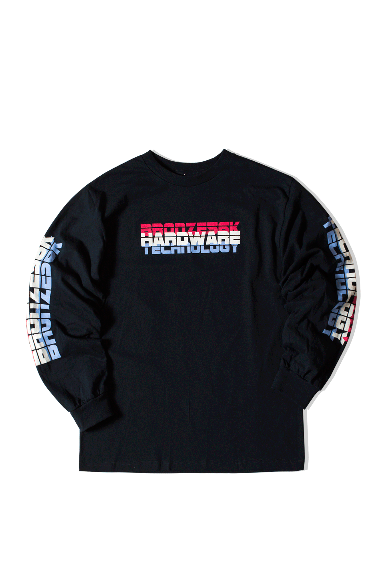 BHT Long Sleeve Tee Blu