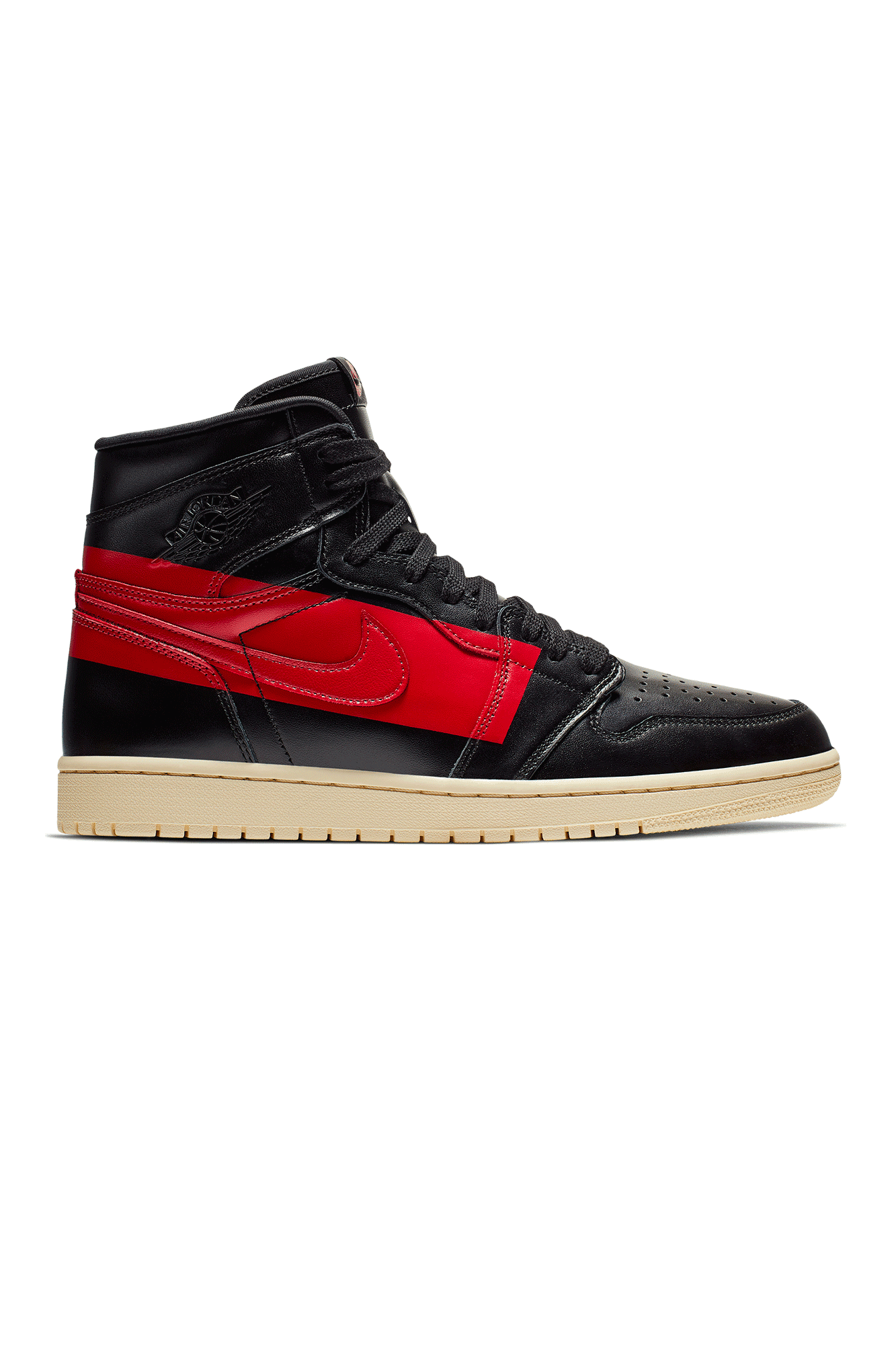 Air Jordan Sneakers 1 Retro High OG Nero Nero - One Block Down