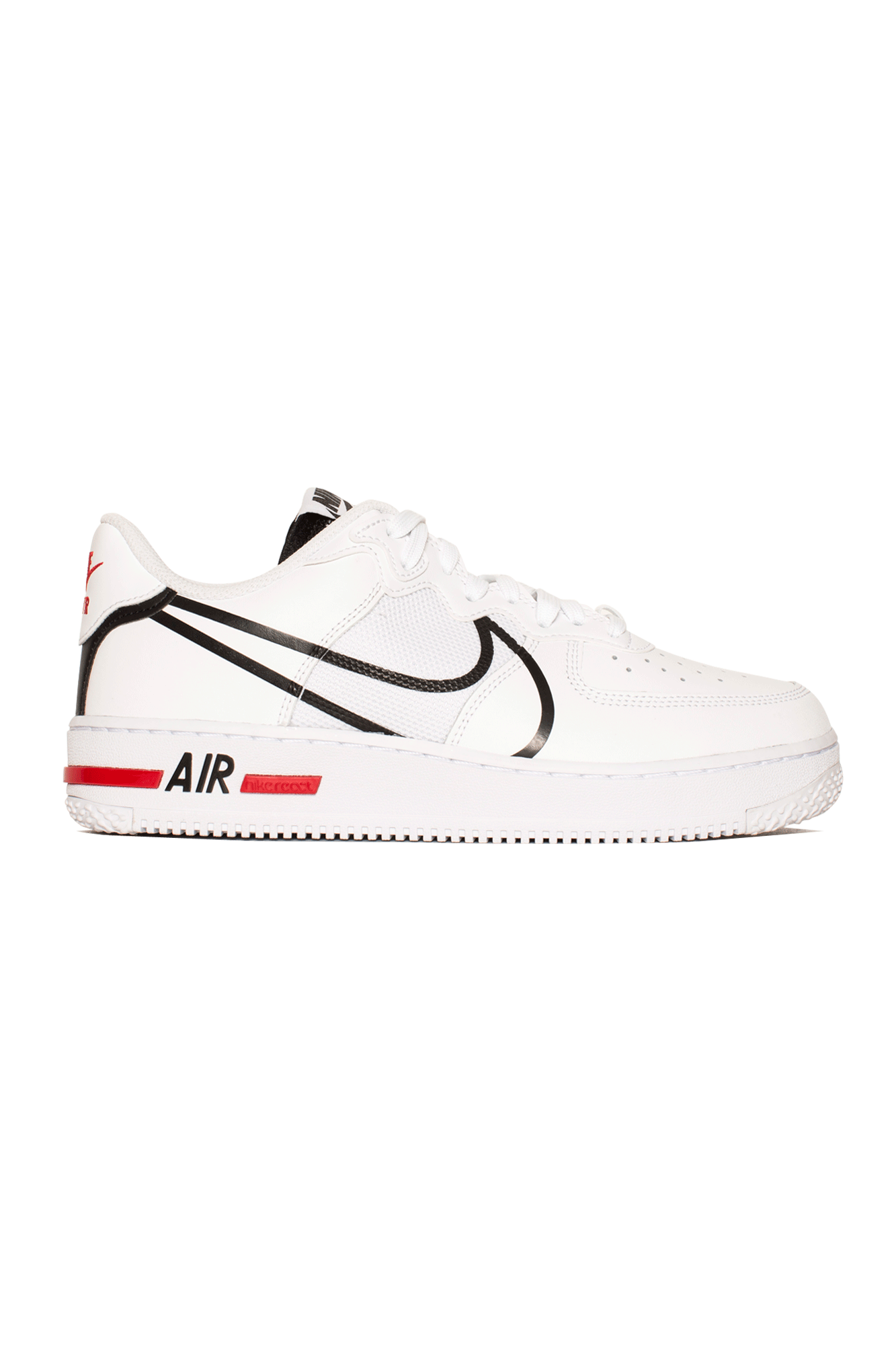 Nike Sneakers Air Force 1 React Bianco CD4366-#000#100#6,5 - One Block Down
