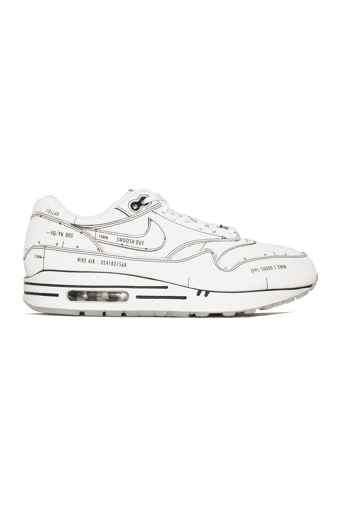 AIR MAX 1 SKETCH TO SHELF Bianco