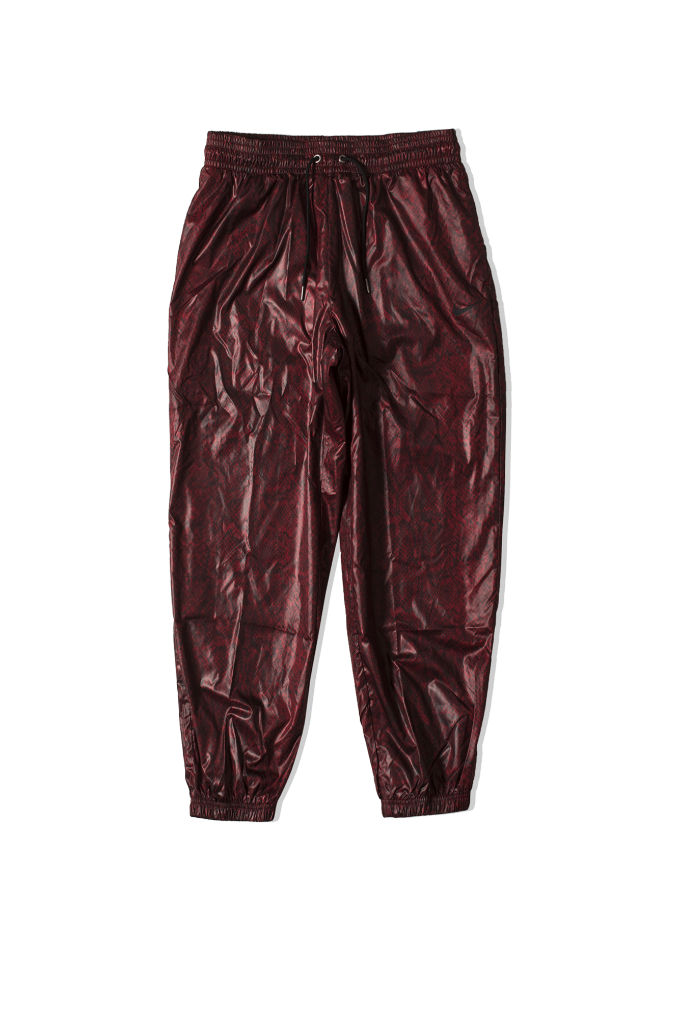 W NSW PANT WVN PYTHN Rosso