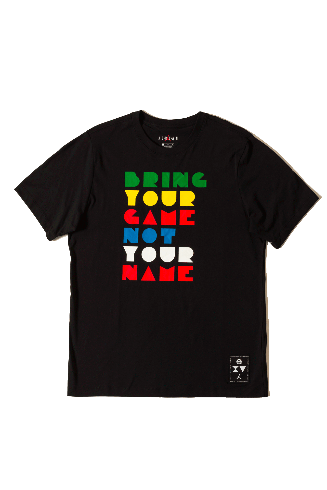Air Jordan T-Shirts Logo Tee Quai54 Nero CK0610-010#000#C0010#XS - One Block Down