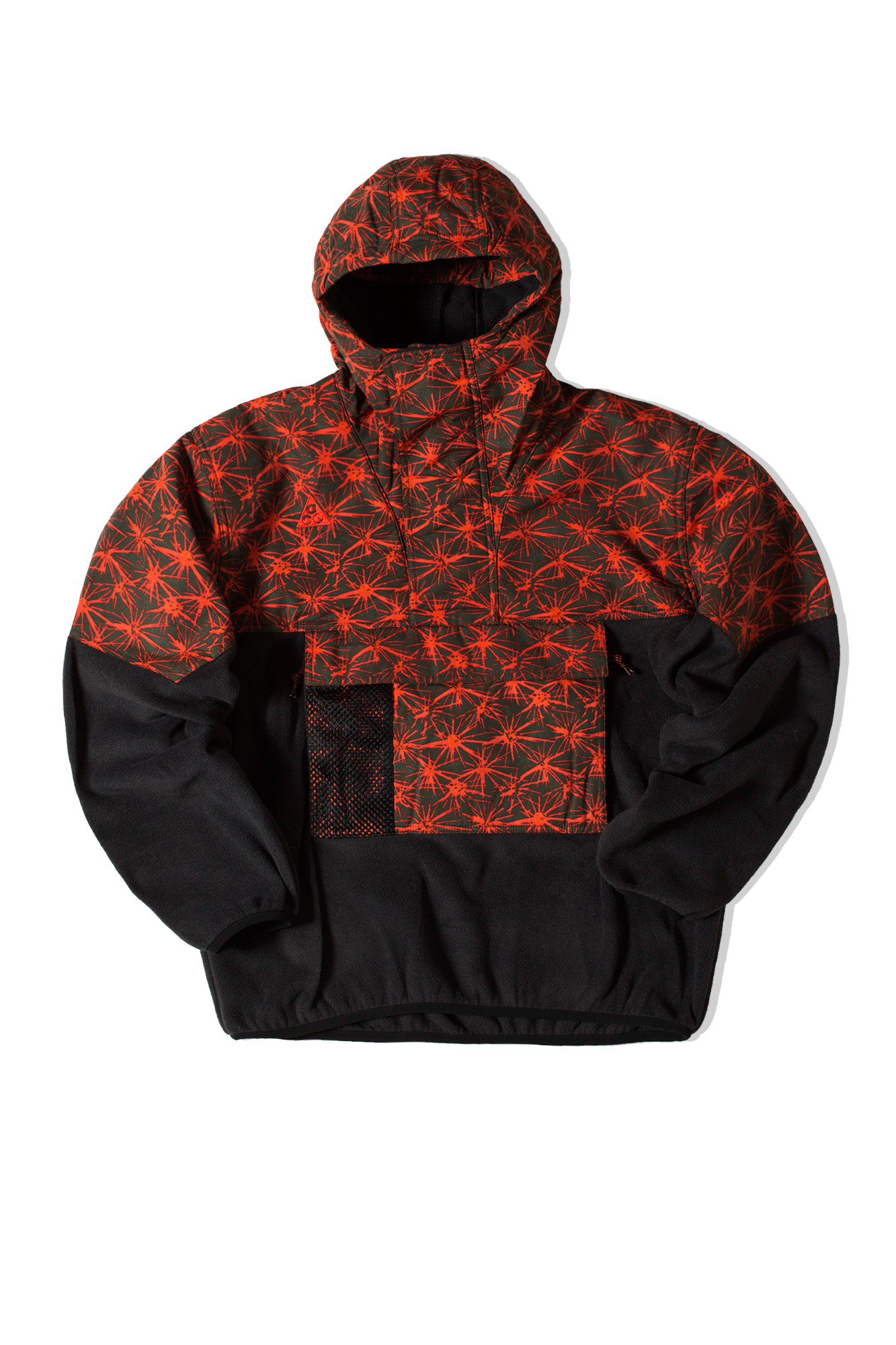 M NRG ACG AOP LT WT Fleece Jacket Nero