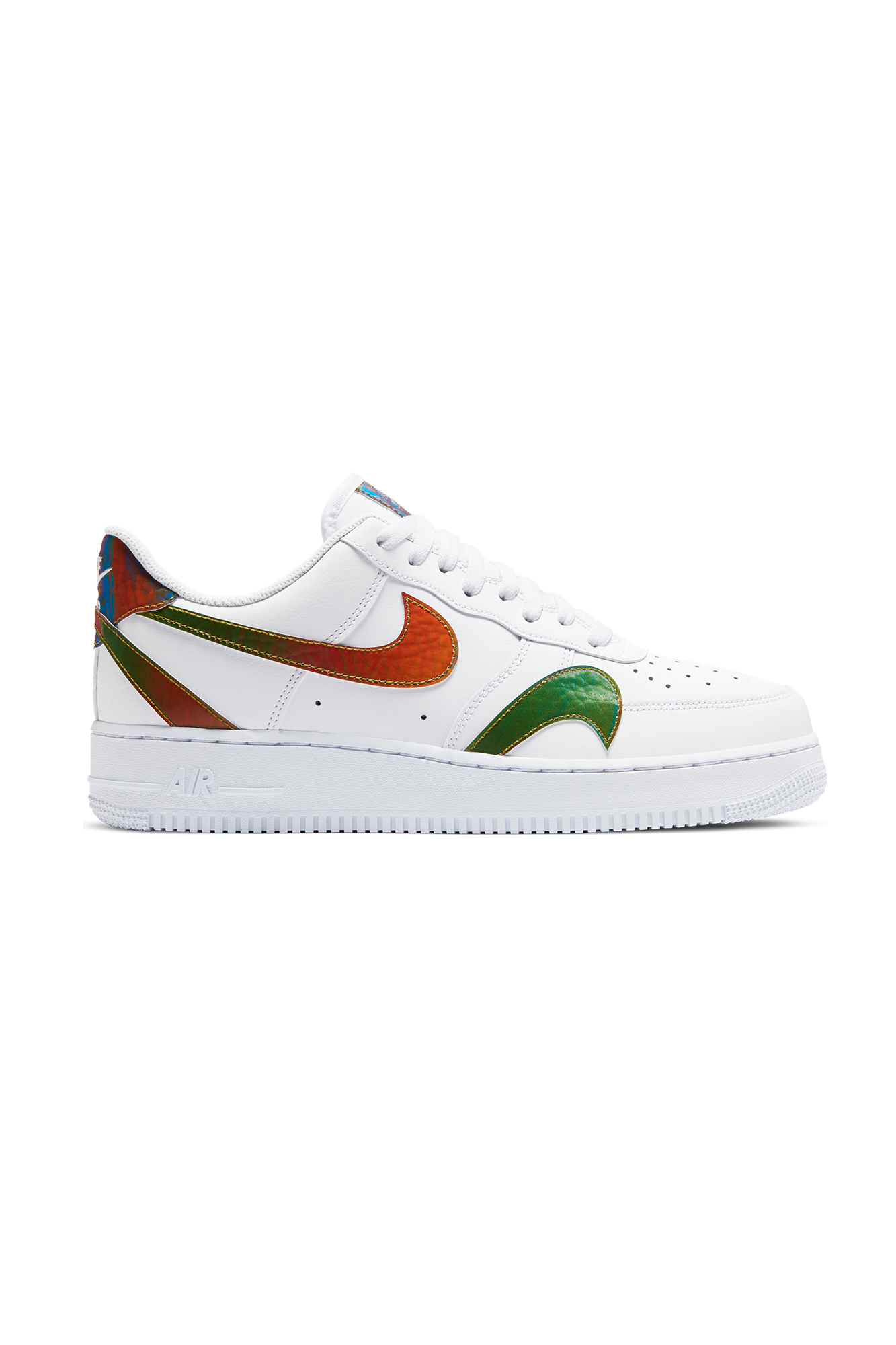 Nike Sneakers Air Force 1 '07 LV8 Bianco CK7214-#000#101#7 - One Block Down