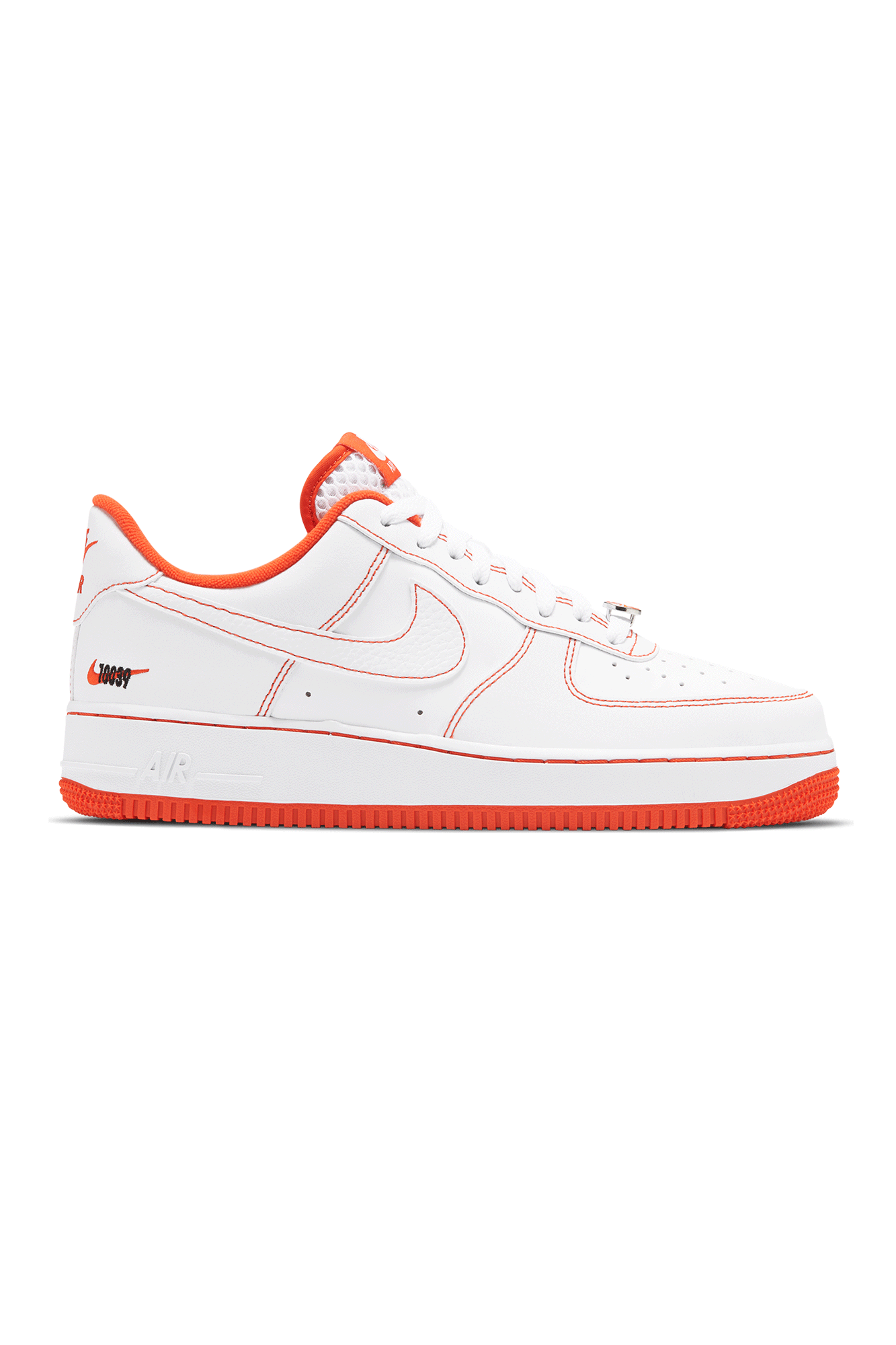 "Nike Sneakers Air Force 1 '07 LV8 EMB ""Rucker Park"" Bianco CT2585-#000#100#7 - One Block Down"