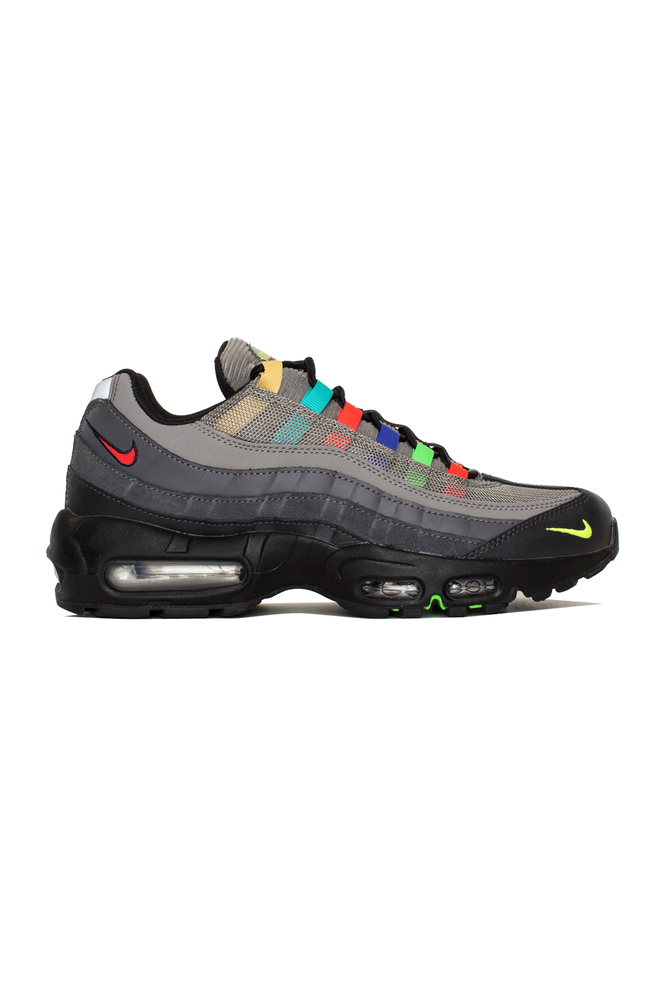 Nike Sneakers Air Max 95 SE Grigio CW6575-#000#001#7 - One Block Down