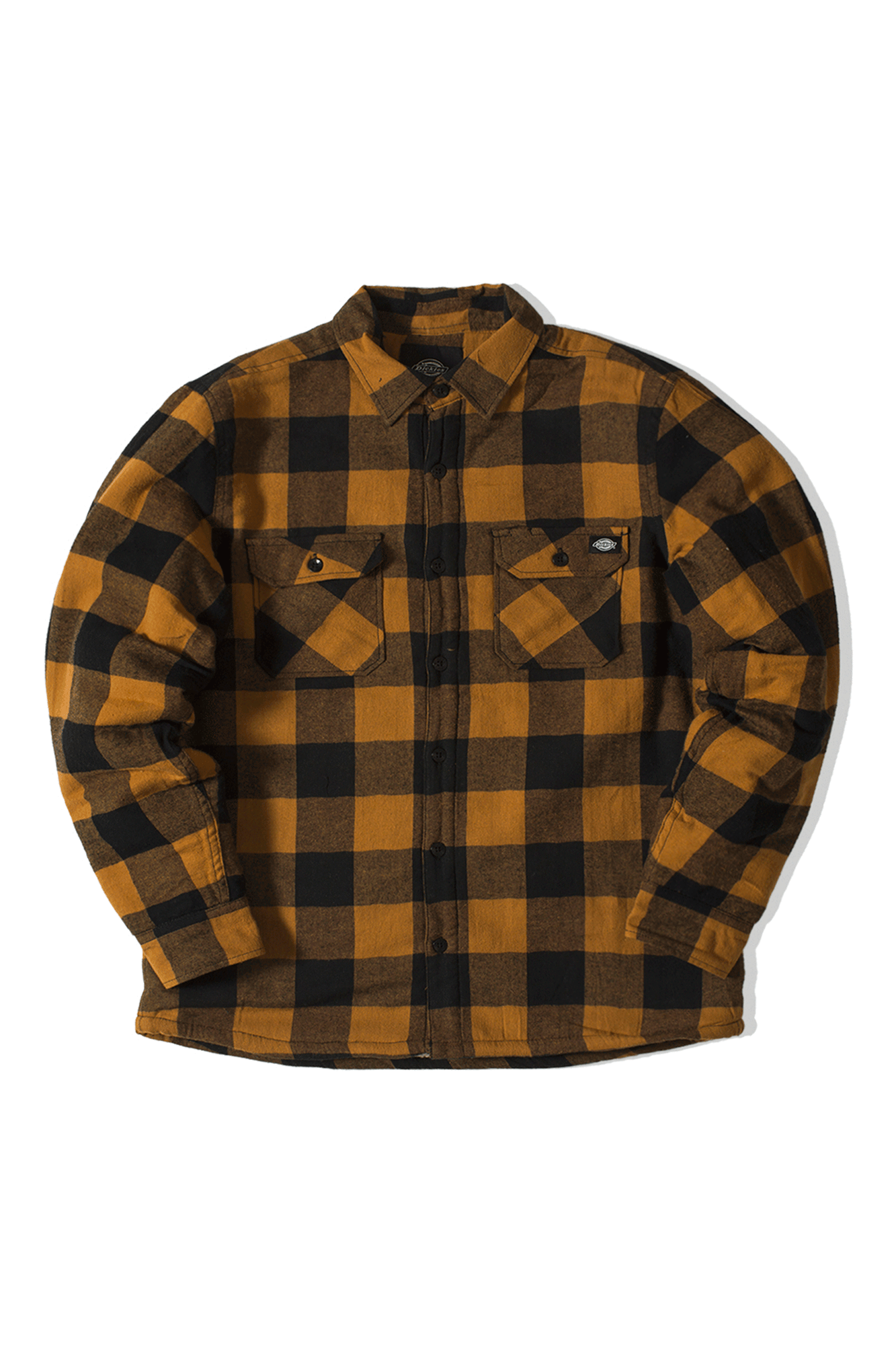 Dickies Camicie Sacramento Shirt Marrone DK520142#000#BD0#S - One Block Down