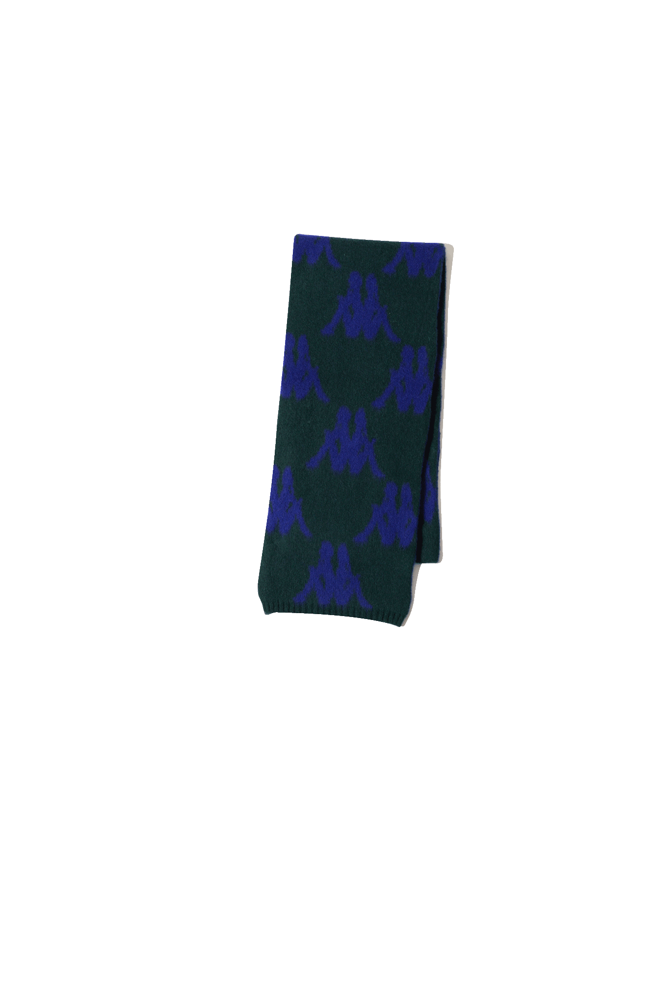 Danilo Paura x Kappa Maglieria Stefan Scarf All Over Verde DPK9001#000#700#OS - One Block Down