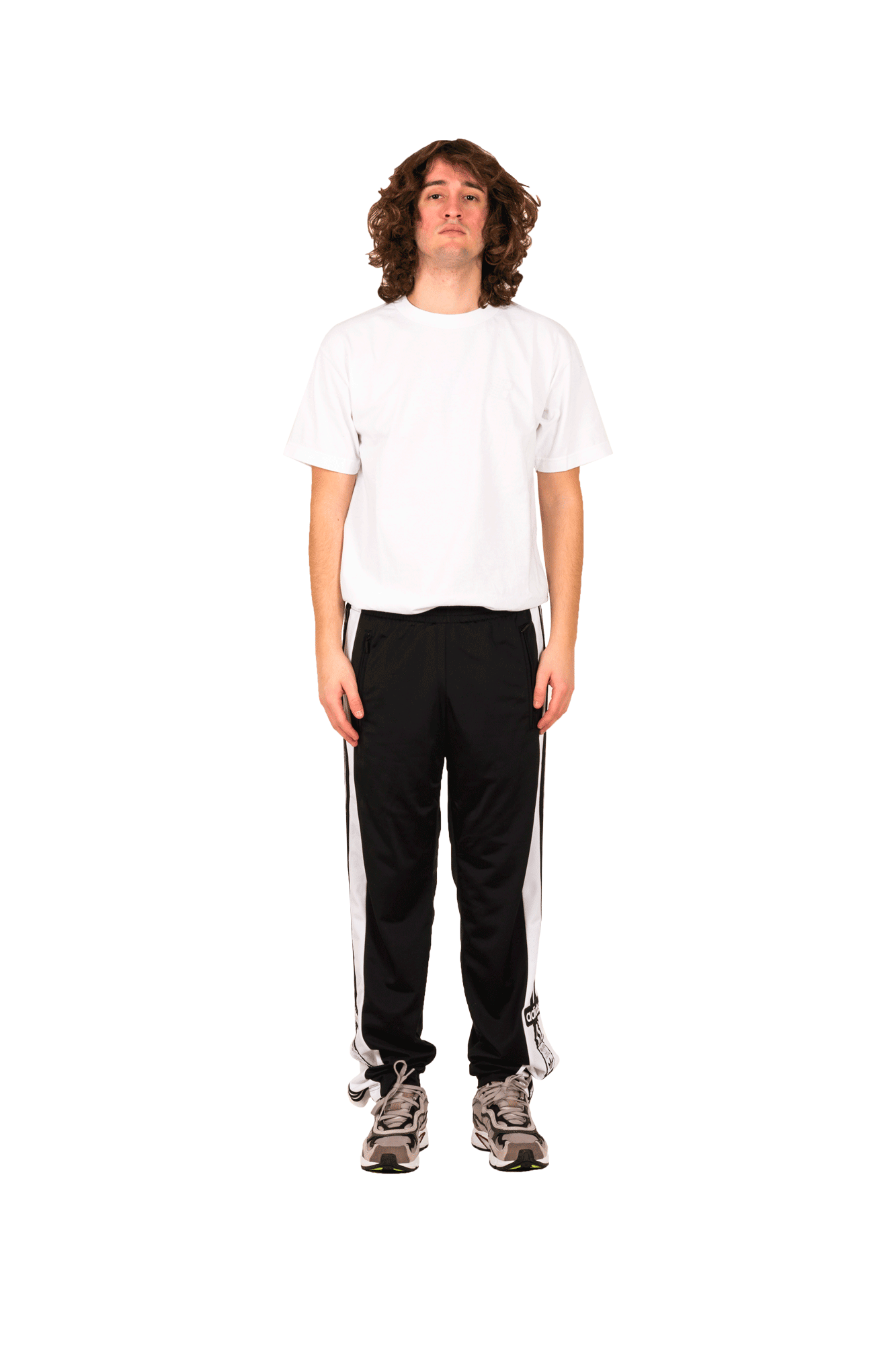 Adidas Originals Pantaloni sportivi Snap Pants Nero DV1593#000#C0010#S - One Block Down