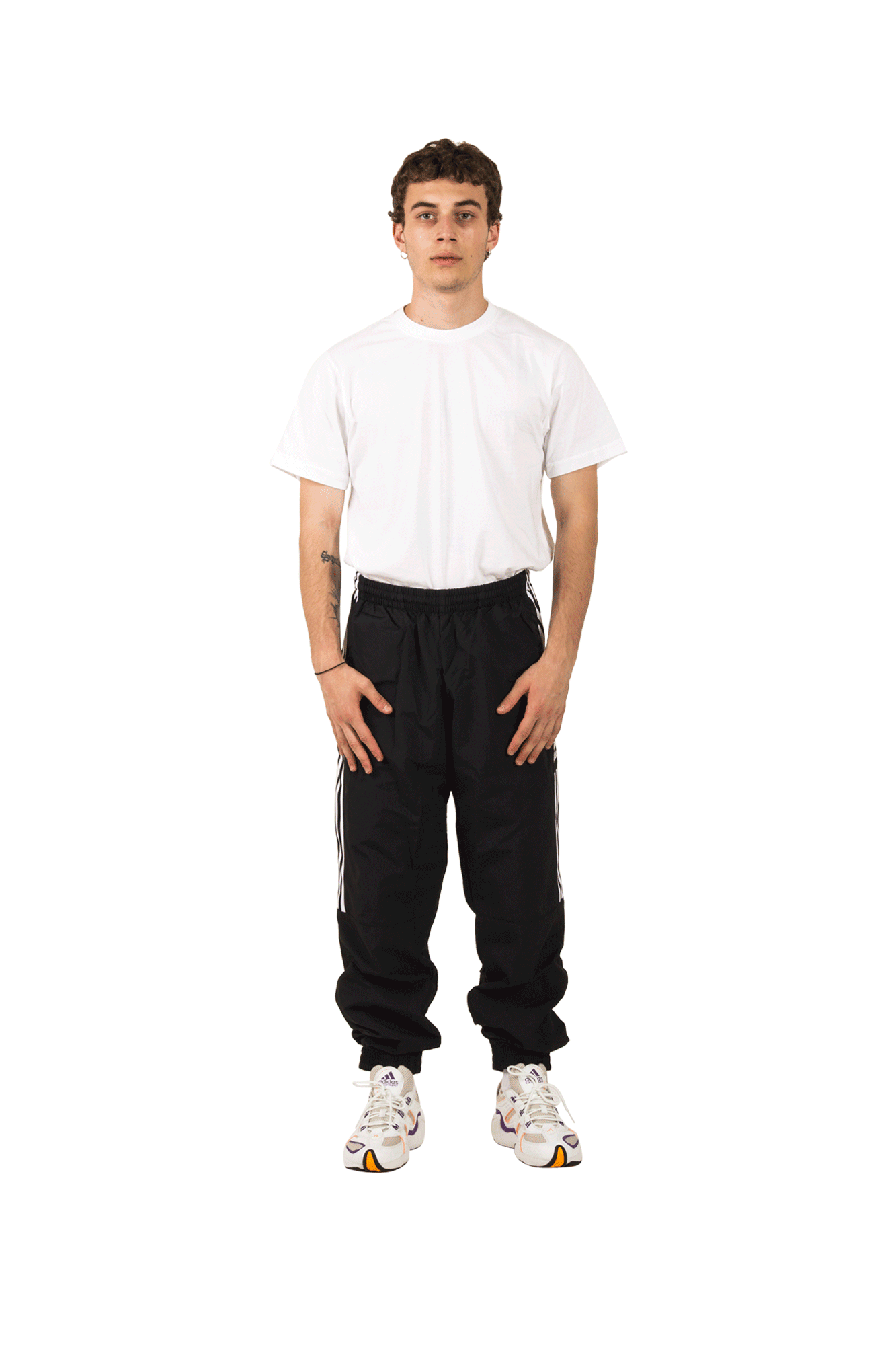 Adidas Originals Pantaloni sportivi Woven TP Pant Nero ED6097#000#Black#S - One Block Down
