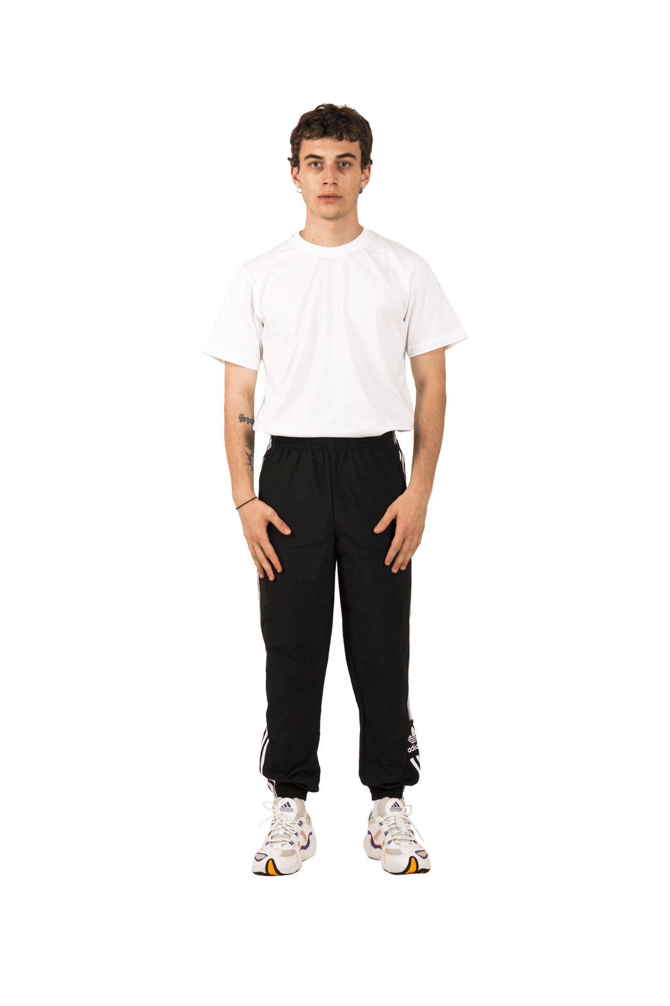Adidas Originals Pantaloni sportivi Lock Up TP Pant Nero ED7542#000#Black#36 - One Block Down