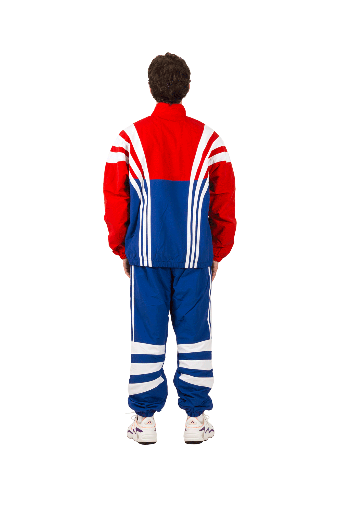 Adidas Originals Felpe BLNT 96 TT Jacket Rosso EE2338#000#Red#S - One Block Down