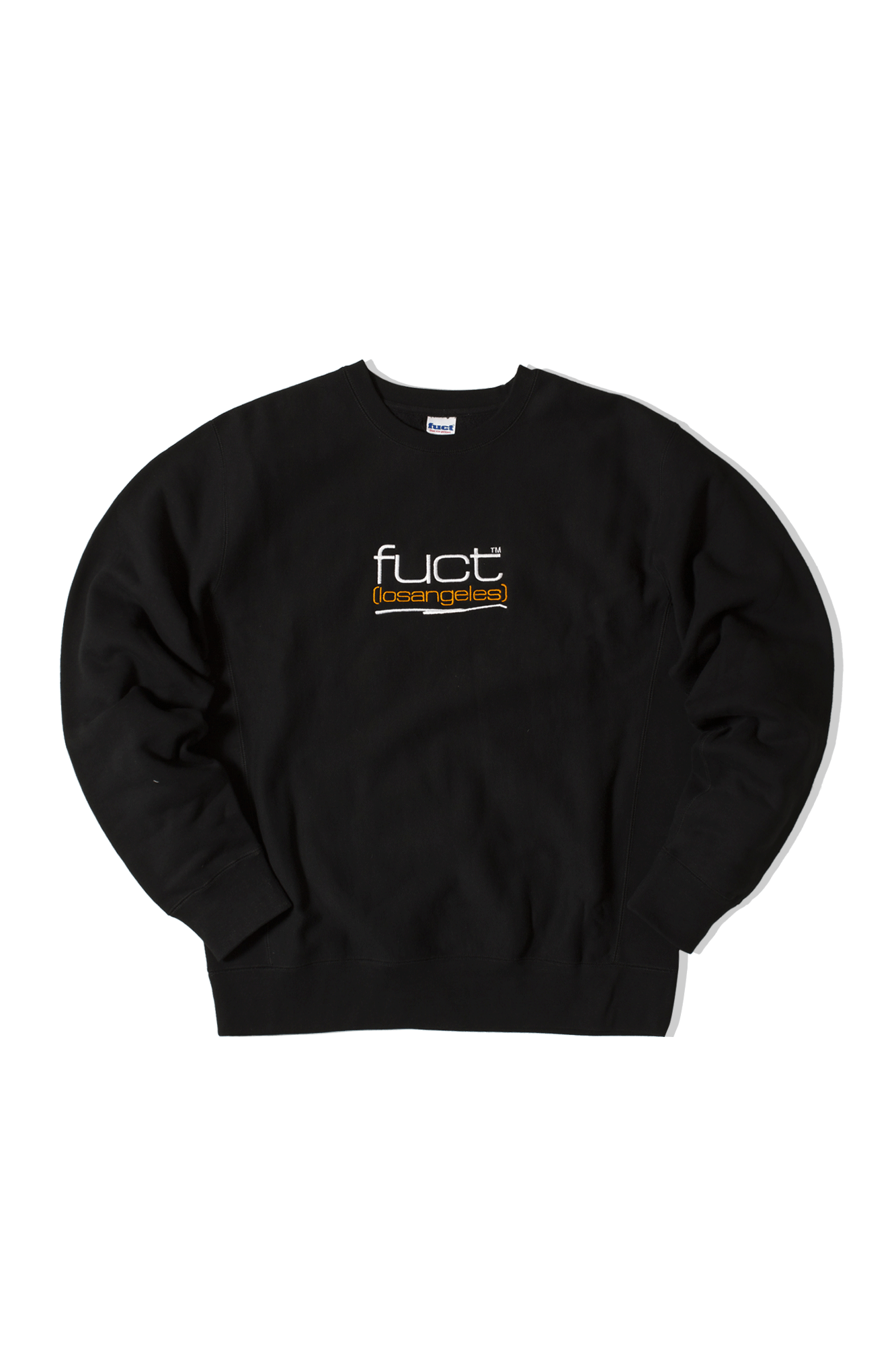 FUCT LA EMBROIDERED CREWNECK Nero