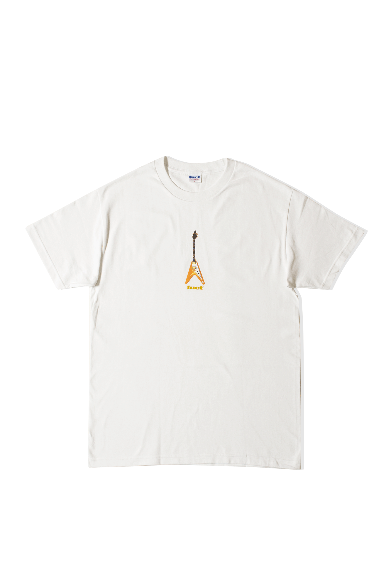 FLYING V T-Shirt Bianco