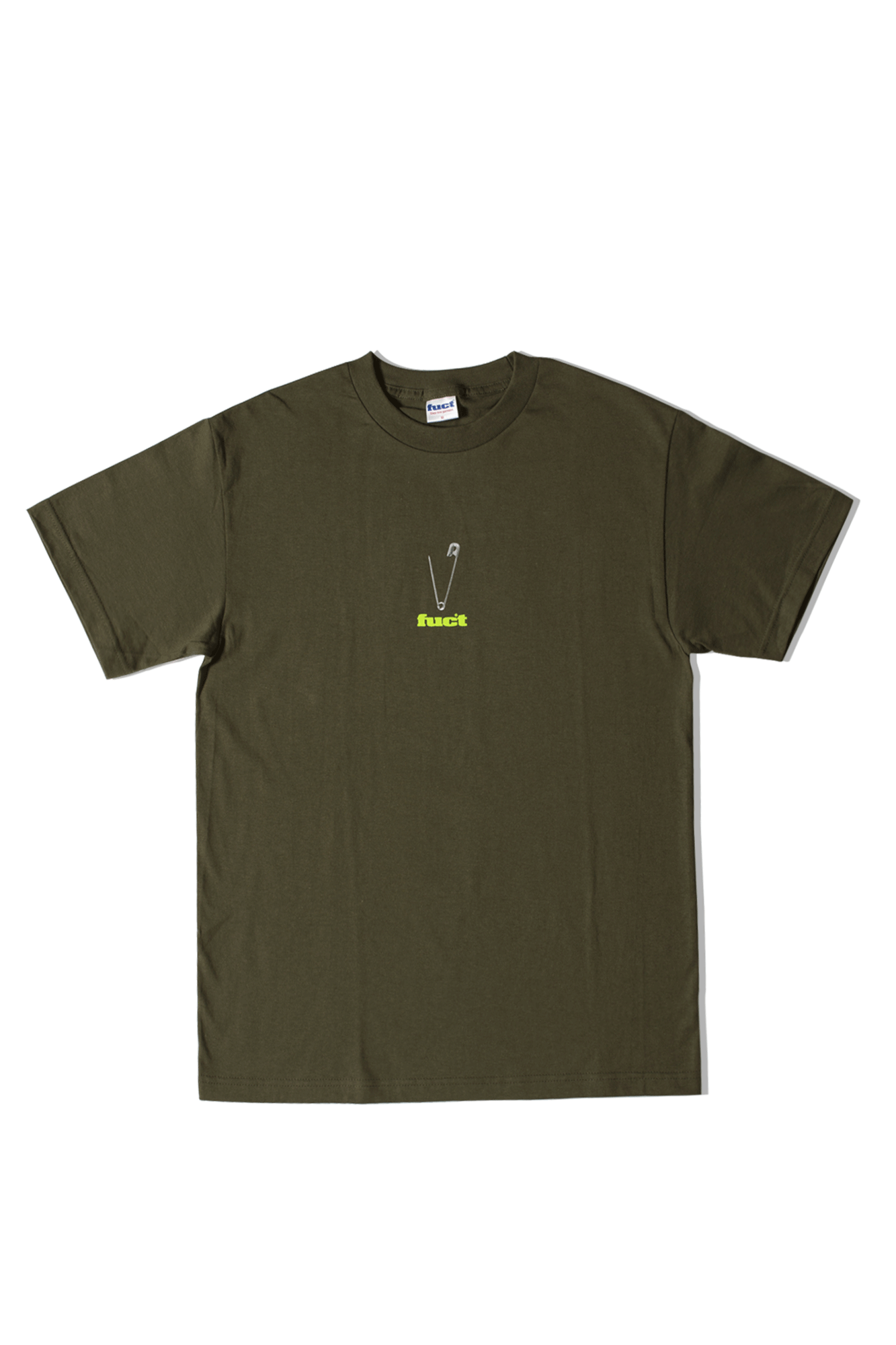 SAFETY PIN T-SHIRT Verde