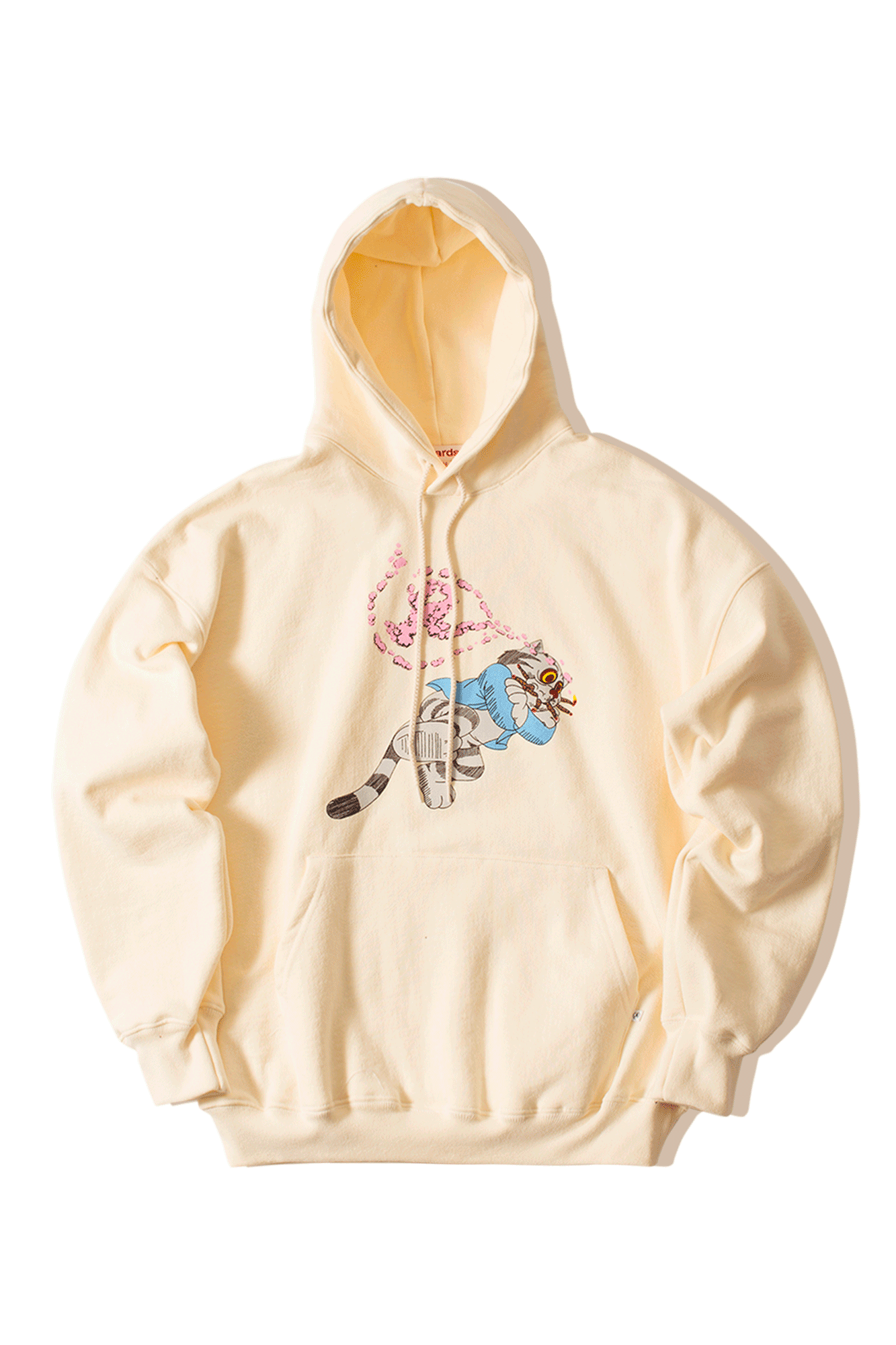 Richardson Mag Felpe Fritz The Cat Smoked Out Hoodie Bianco [option2] - One Block Down