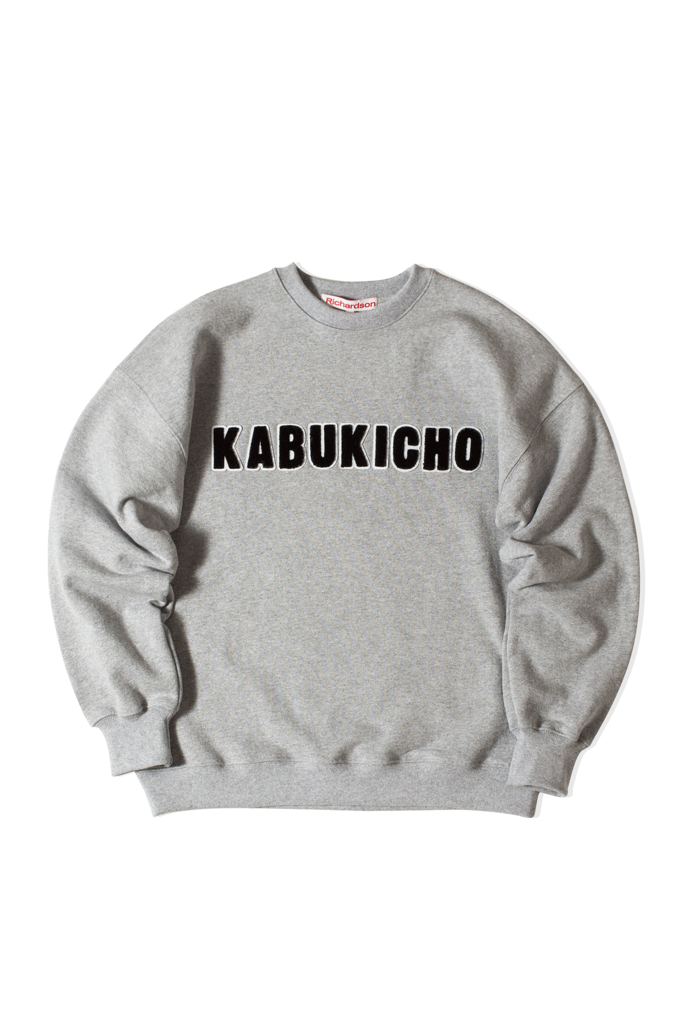 Richardson Mag Felpe girocollo District Crewneck Grigio FW20042#000#KBKGRY#M - One Block Down
