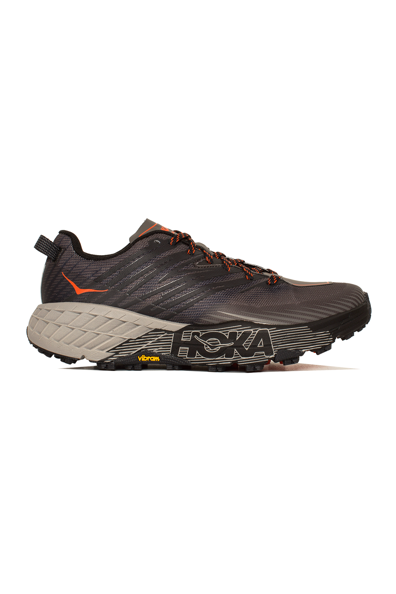 Hoka One One Sneakers Speedgoat 4 Grigio HK.1106525#000#DGGA#7 - One Block Down