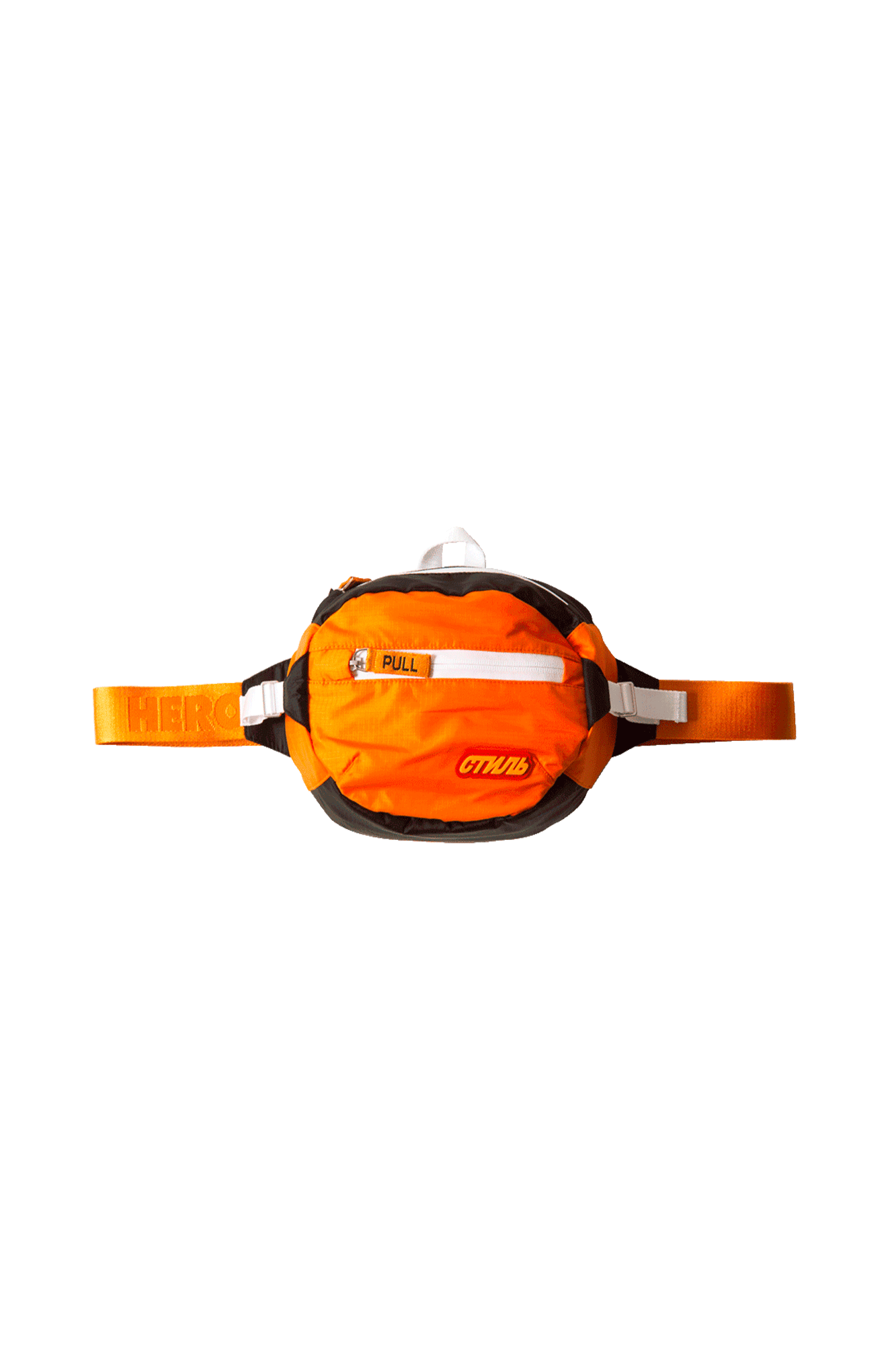 CTNMB Padded Fanny Pack Orange Orange Arancione