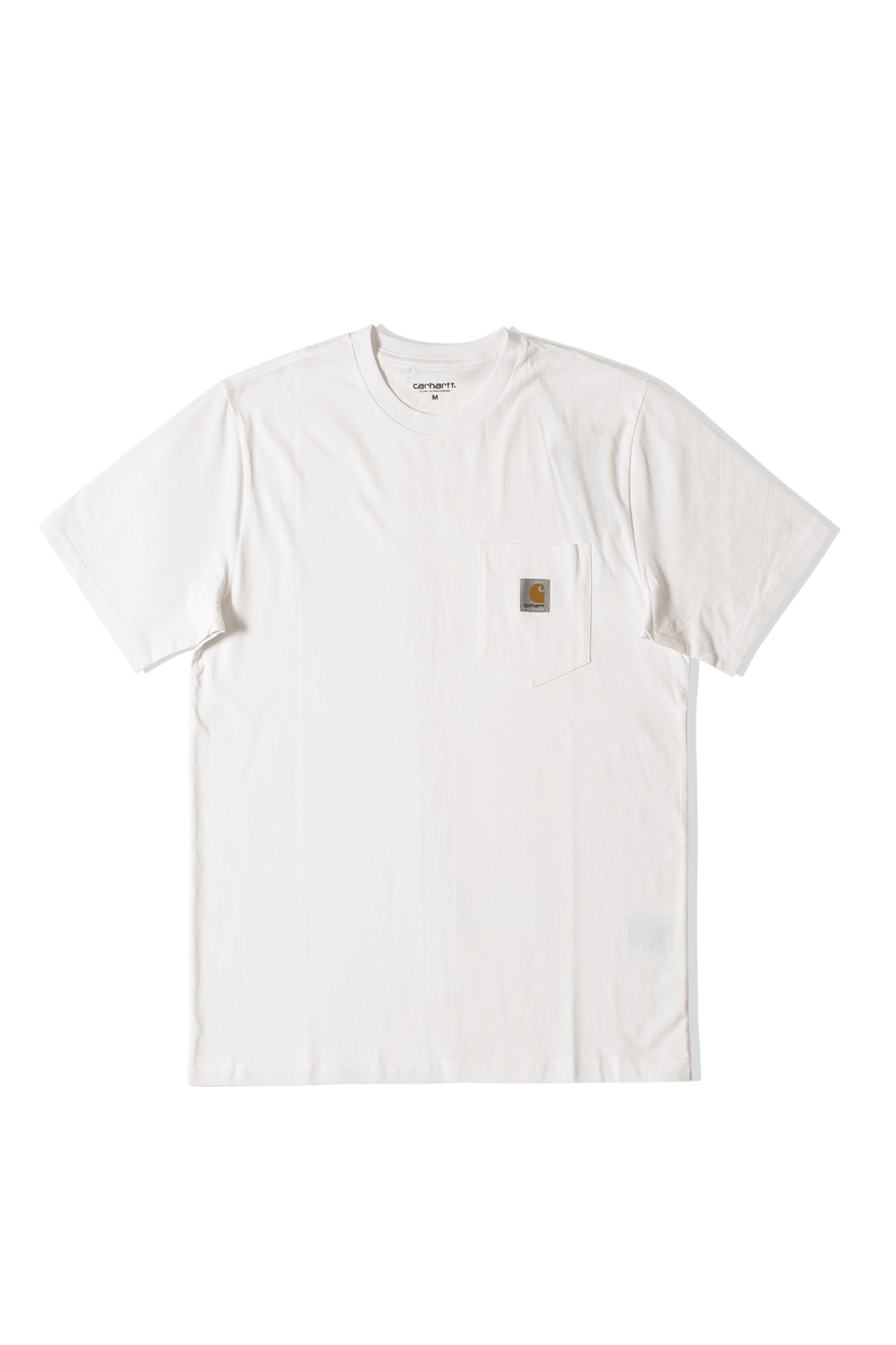 S/S Pocket T-Shirt Bianco