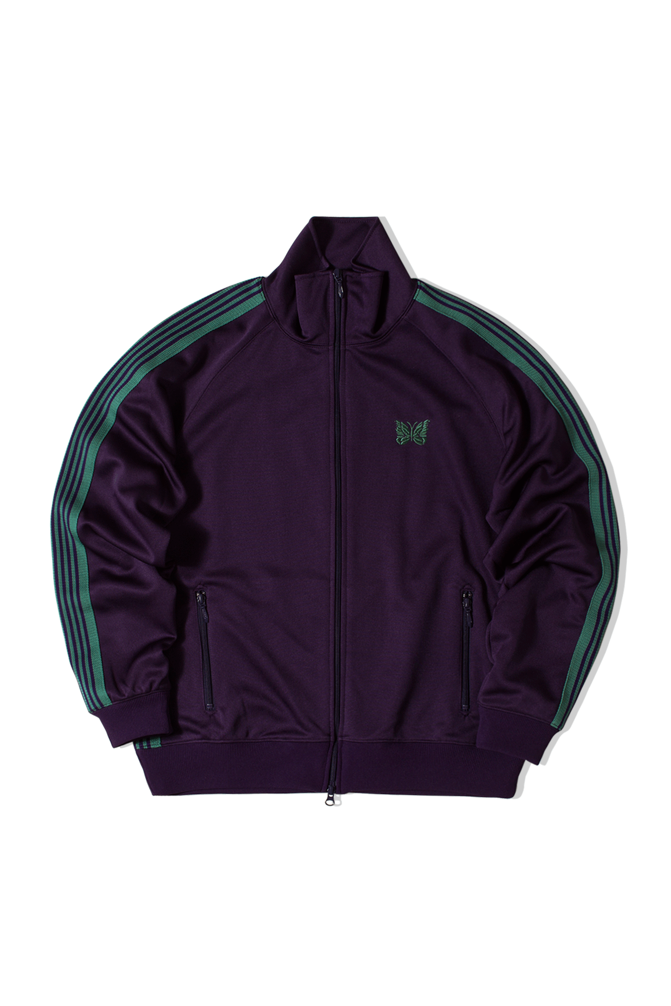 Poly Smooth Track Jacket Viola