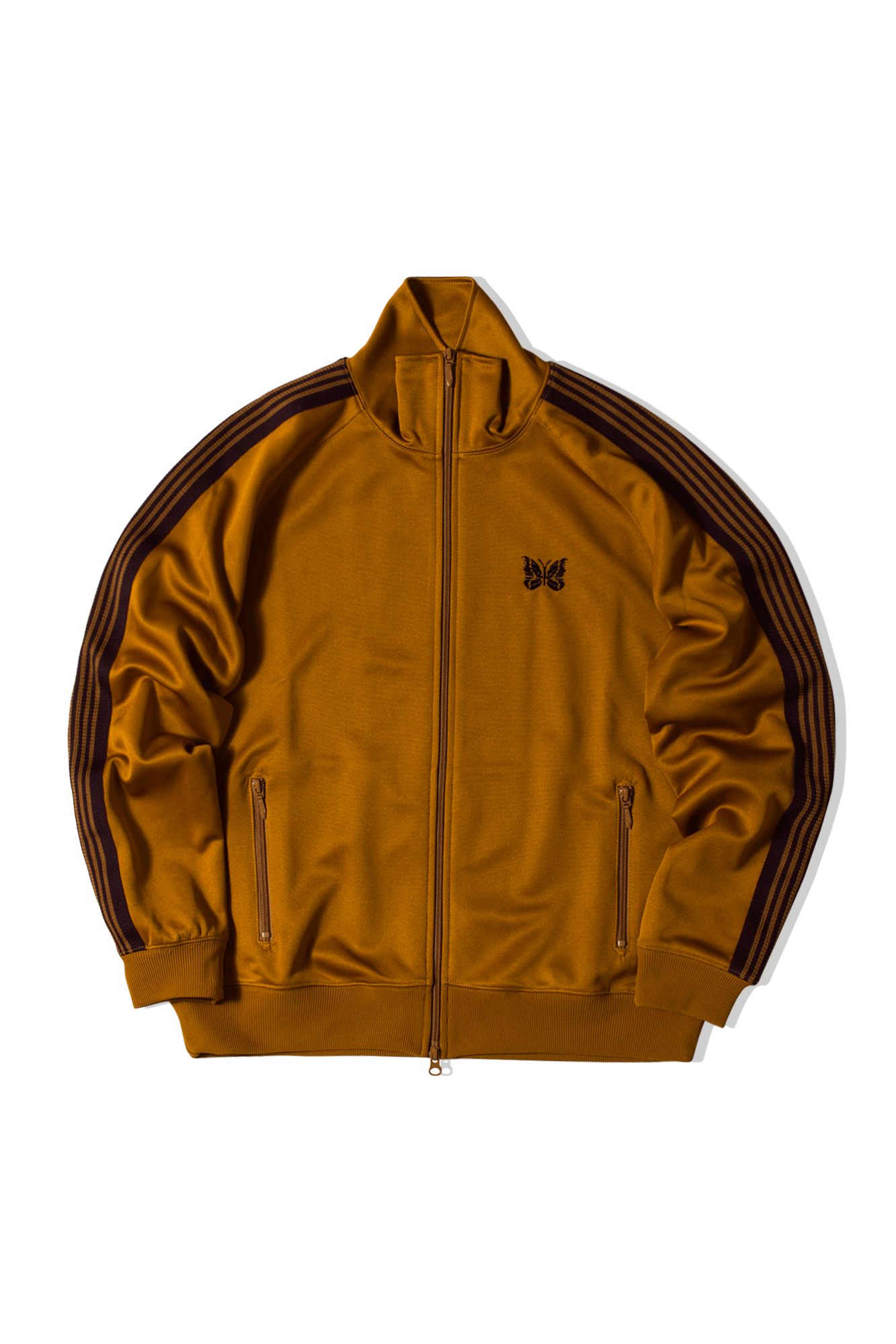 Poly Smooth Track Jacket Giallo