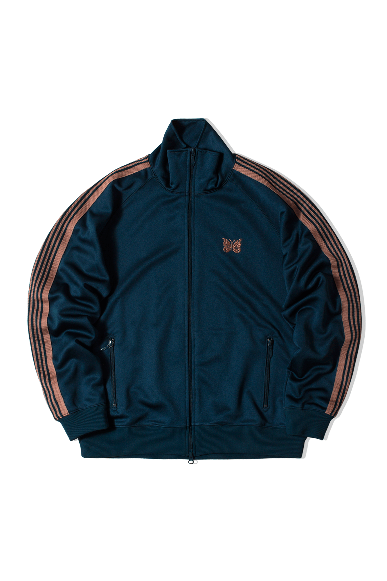 Poly Smooth Track Jacket Verde