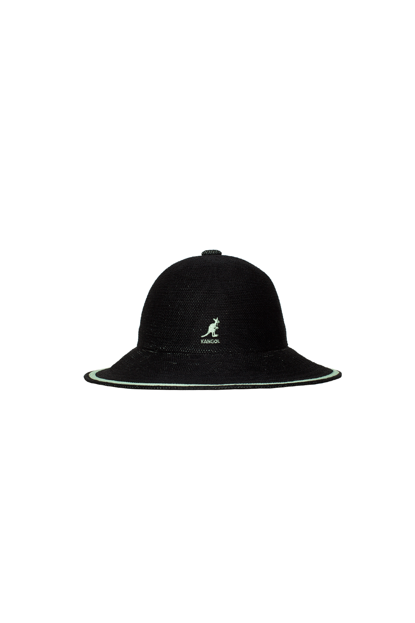 Tropic Wide Brim Stripe Casual Nero
