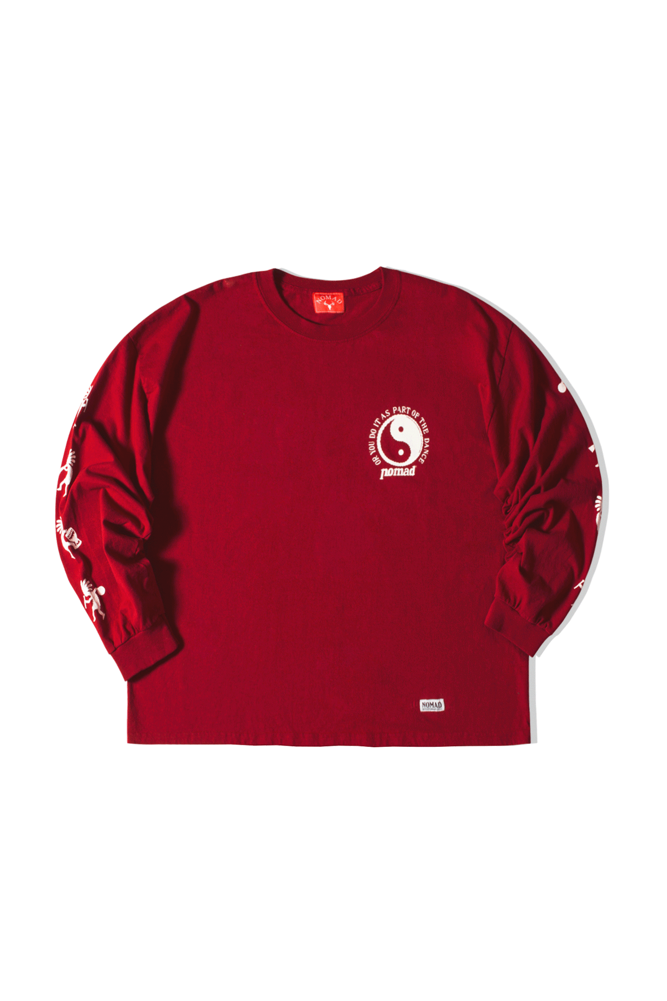 Freaks Long Sleeve T-Shirt Rosso