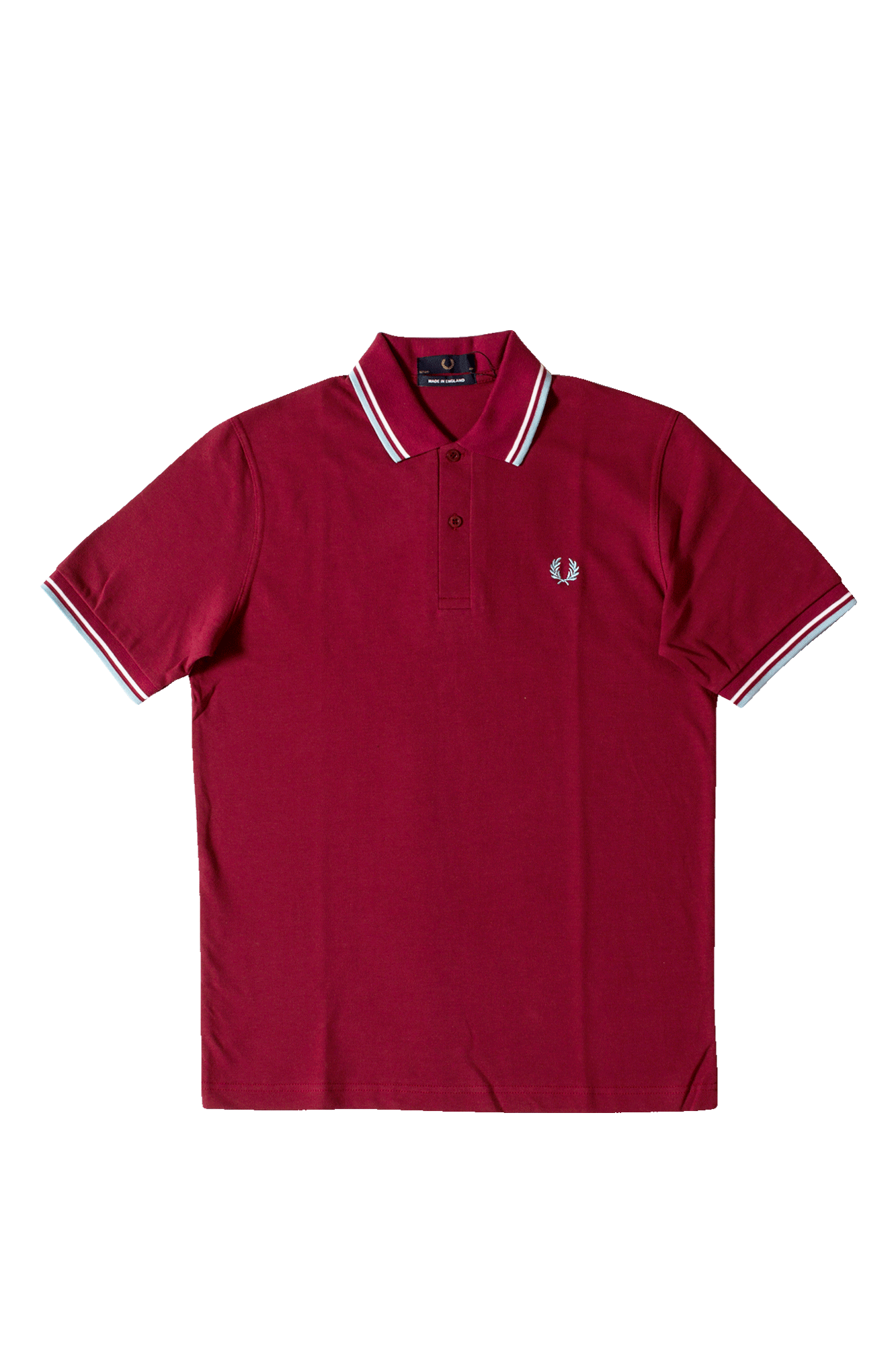 Twin Tipped Fred Perry Polo Shirt Marrone