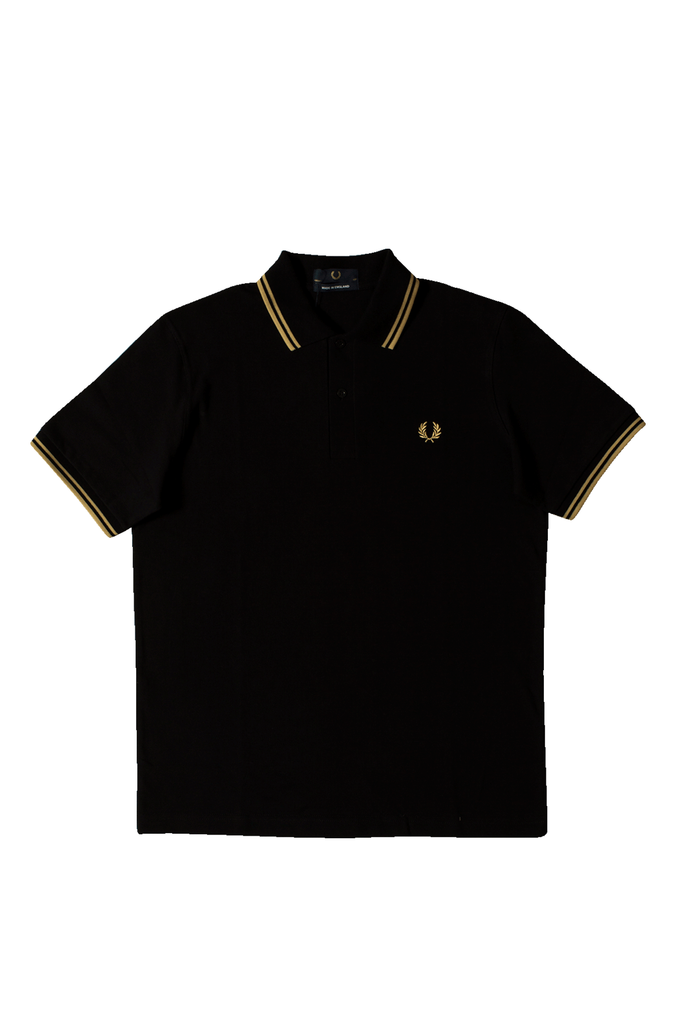 Twin Tipped Fred Perry Polo Shirt Nero
