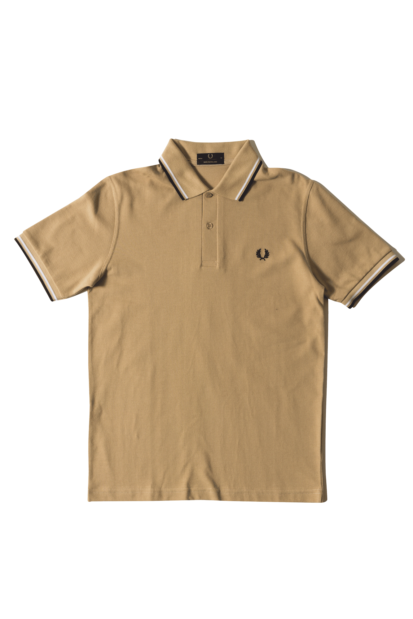 Twin Tipped Fred Perry Shirt Marrone