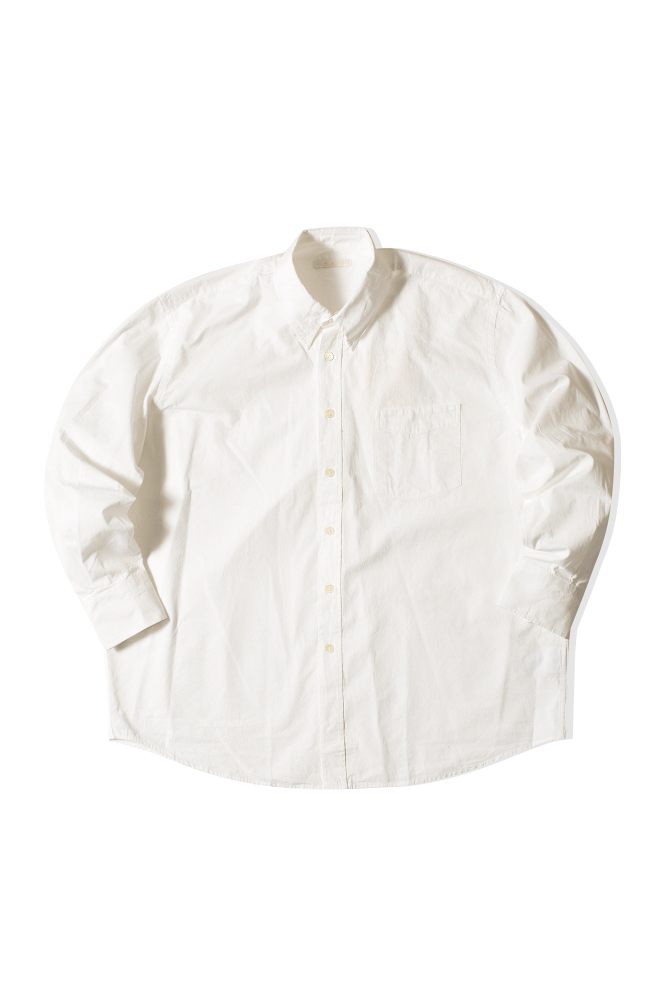 Less Borrowed shirt Bianco