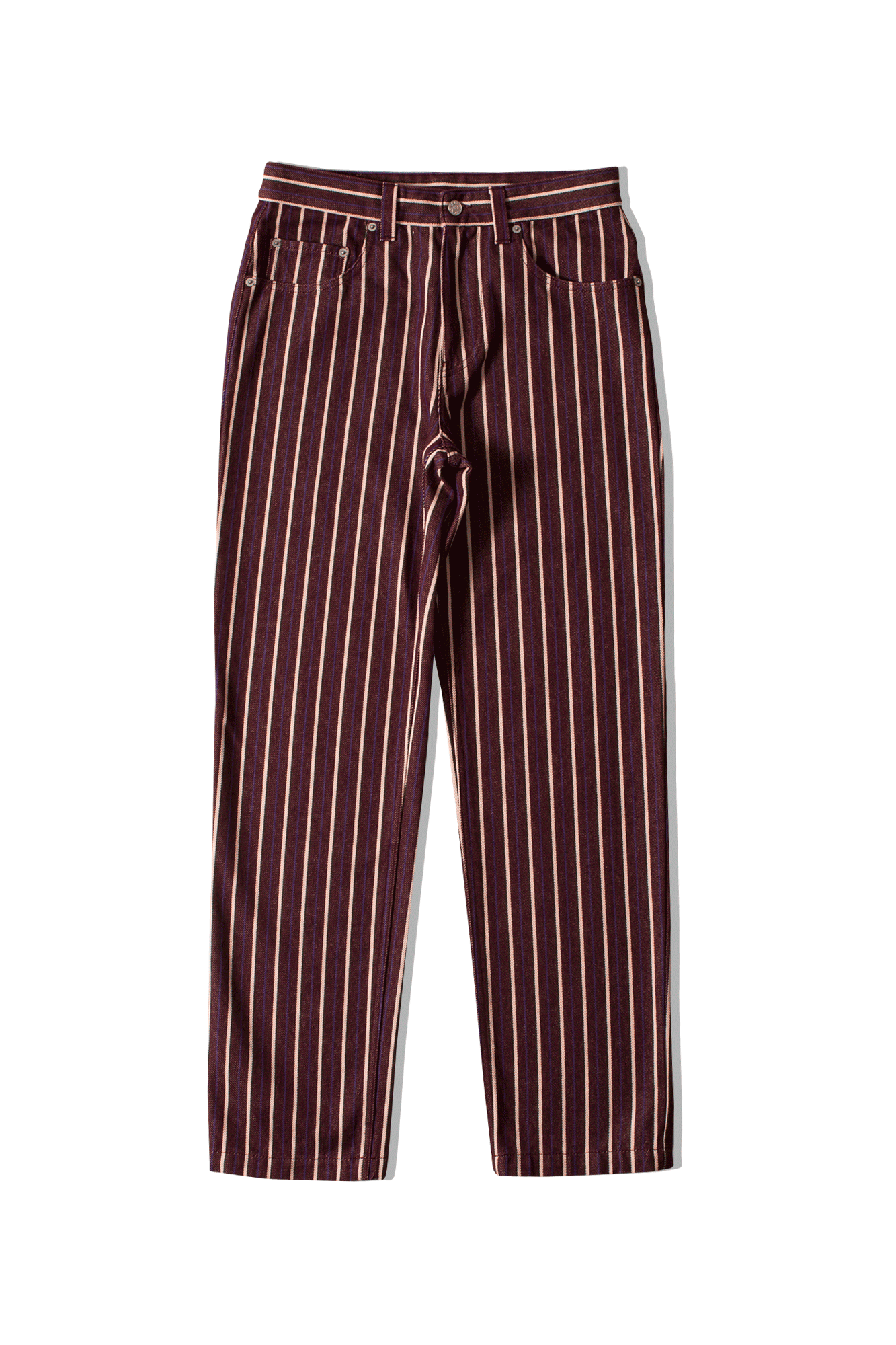 Napa X Martine Rose Jeans L-Risoul Jean Rosso N0YIGAS25#000#RED#S - One Block Down