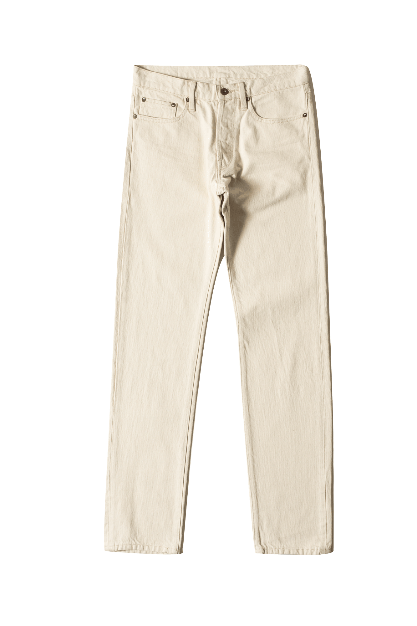 Nacional Trading Jeans Flag Denim Bianco NAT-17JN#000#WHITE#28 - One Block Down
