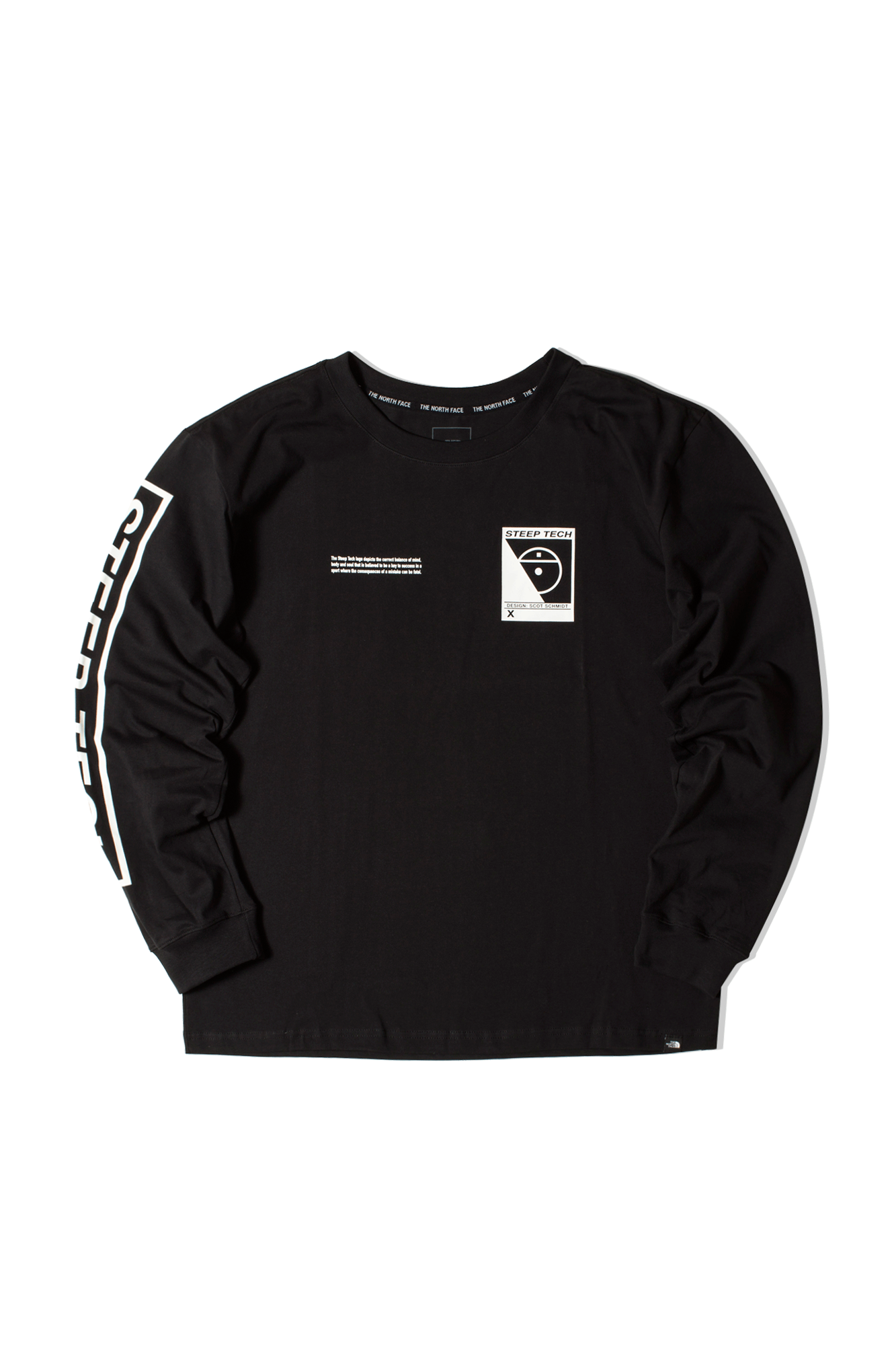 Steep Tech LongSleeve T-Shirt Nero