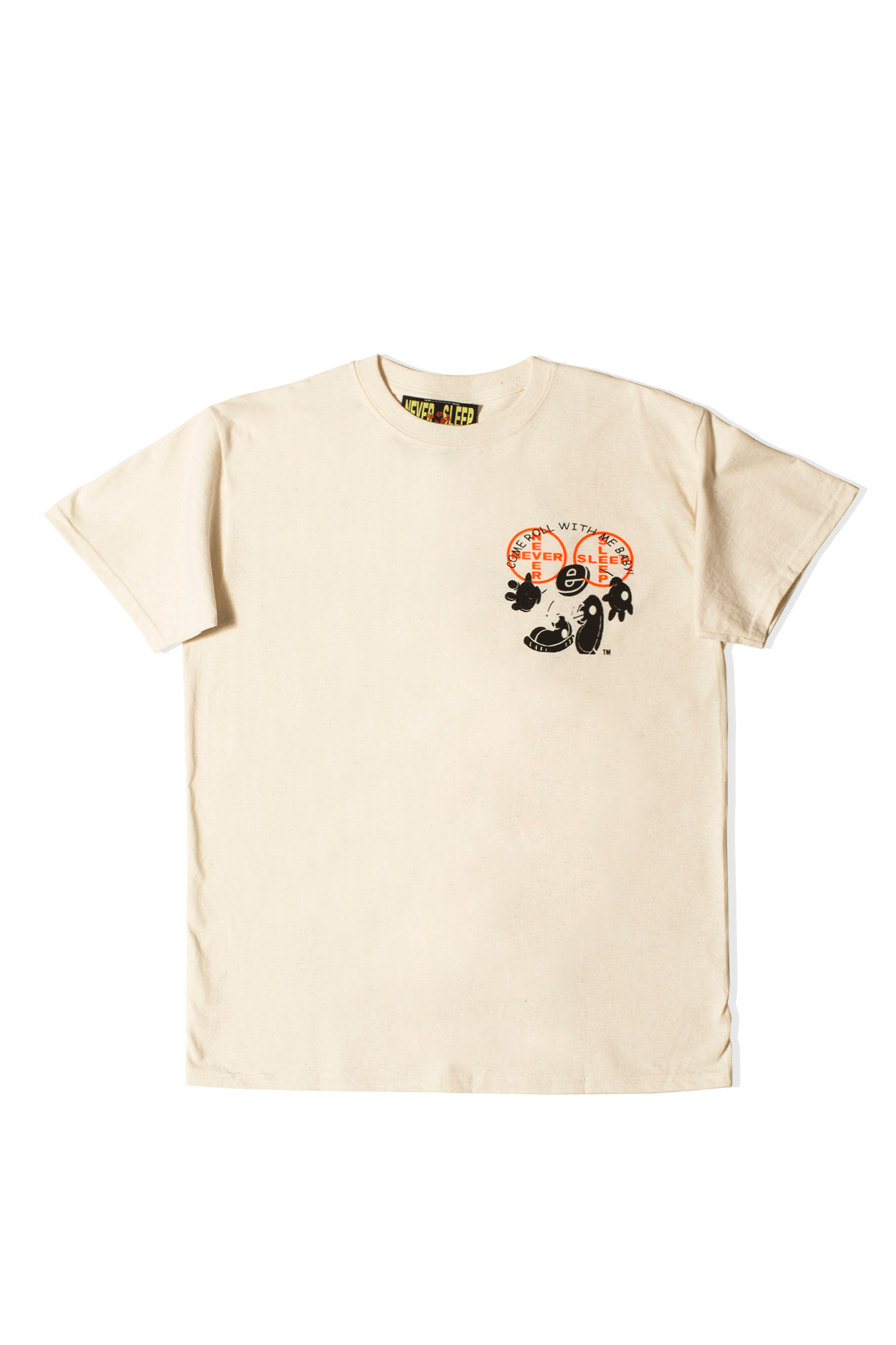 Come Roll With Me T-shirt Beige